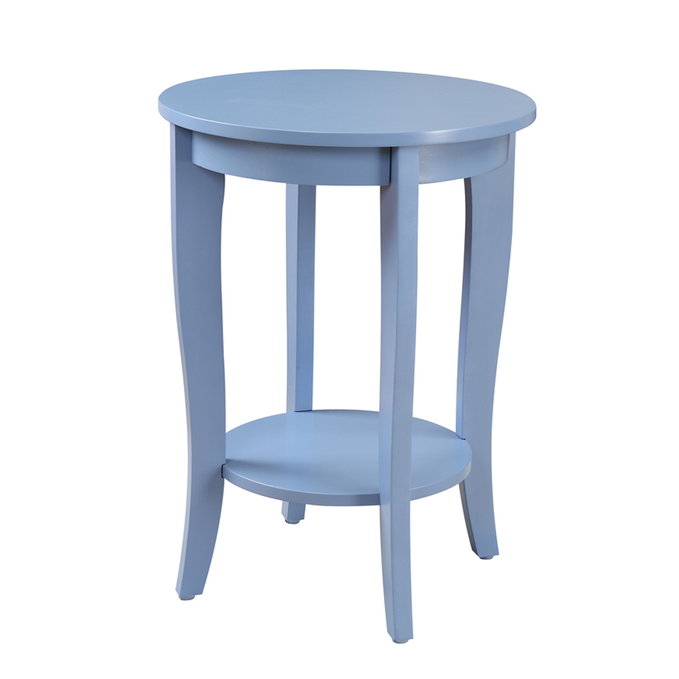 Round End Table : ... Concepts American Heritage Round End Table & Reviews  Wayfair