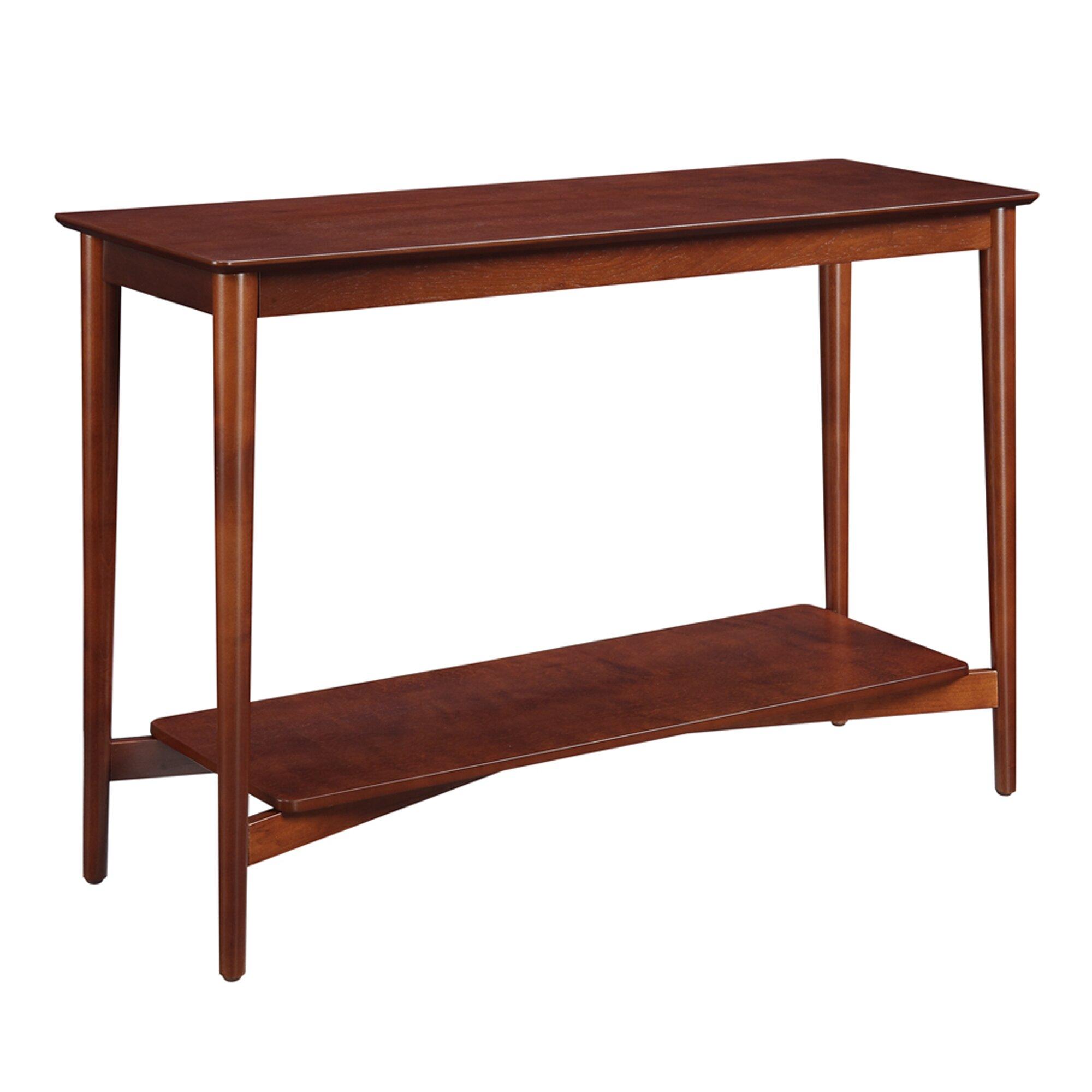 Convenience concepts savannah console table reviews for 6 sofa table