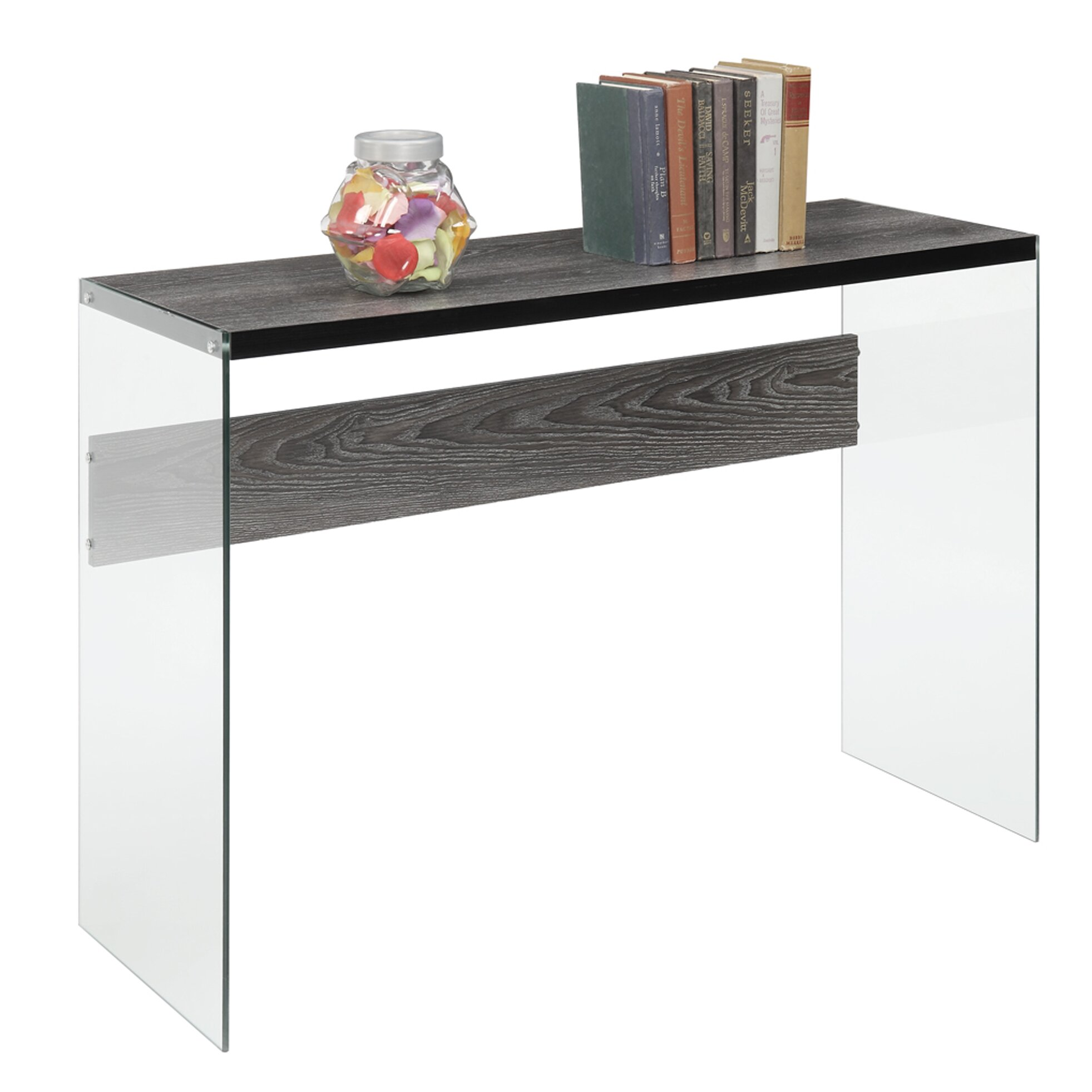 Convenience Concepts Soho Console Table & Reviews  Wayfair. Desks For Sale Sydney. Cheap Vanity Table. Desk Treadmill. Teenage Girl Bedroom Desks. Pedistal Table. Walmart Table Lamps. Designer Desk Chairs. Tv Tray Table Set