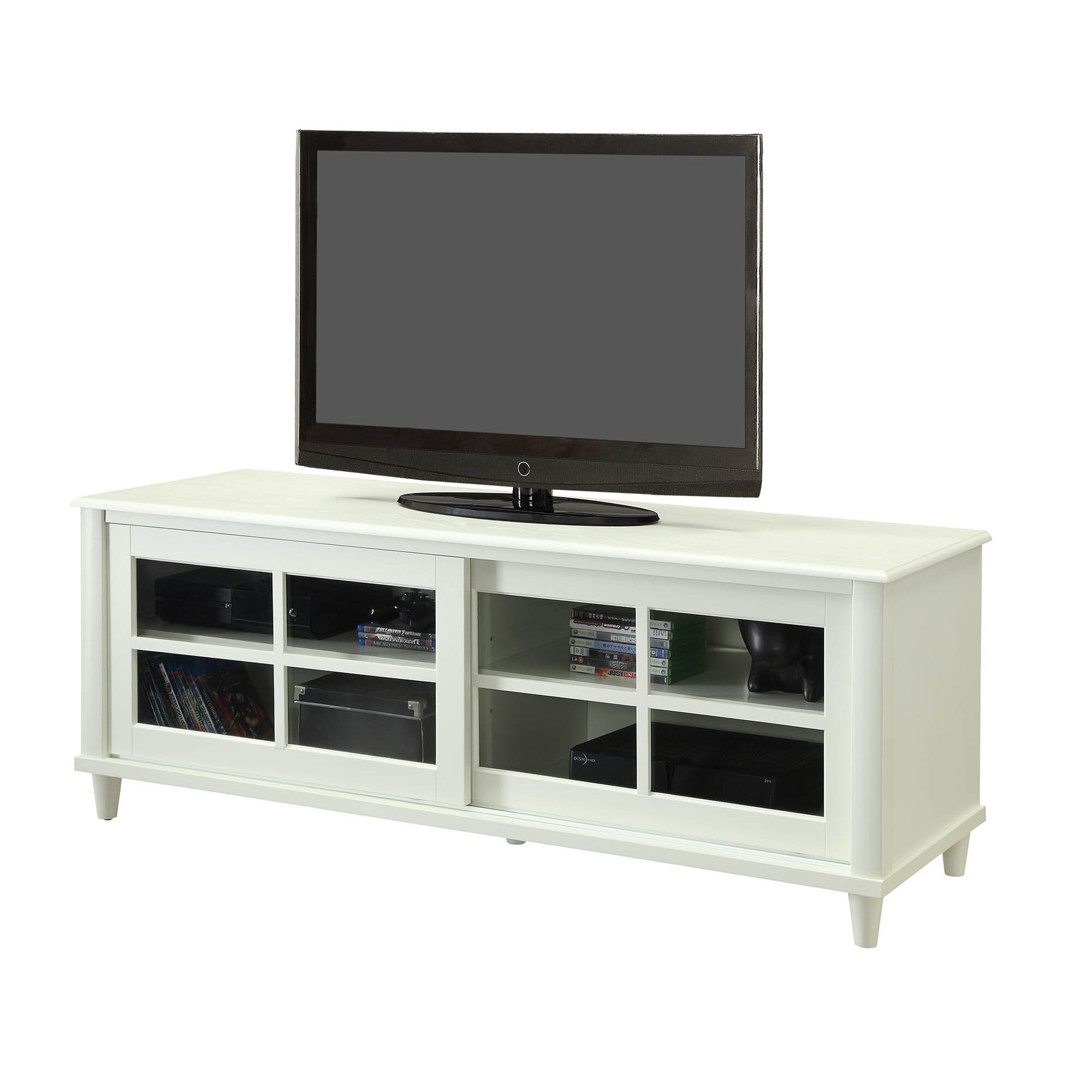 Convenience Concepts French Country TV Stand amp Reviews  : Convenience Concepts French Country TV Stand from www.wayfair.com size 2000 x 2000 jpeg 235kB