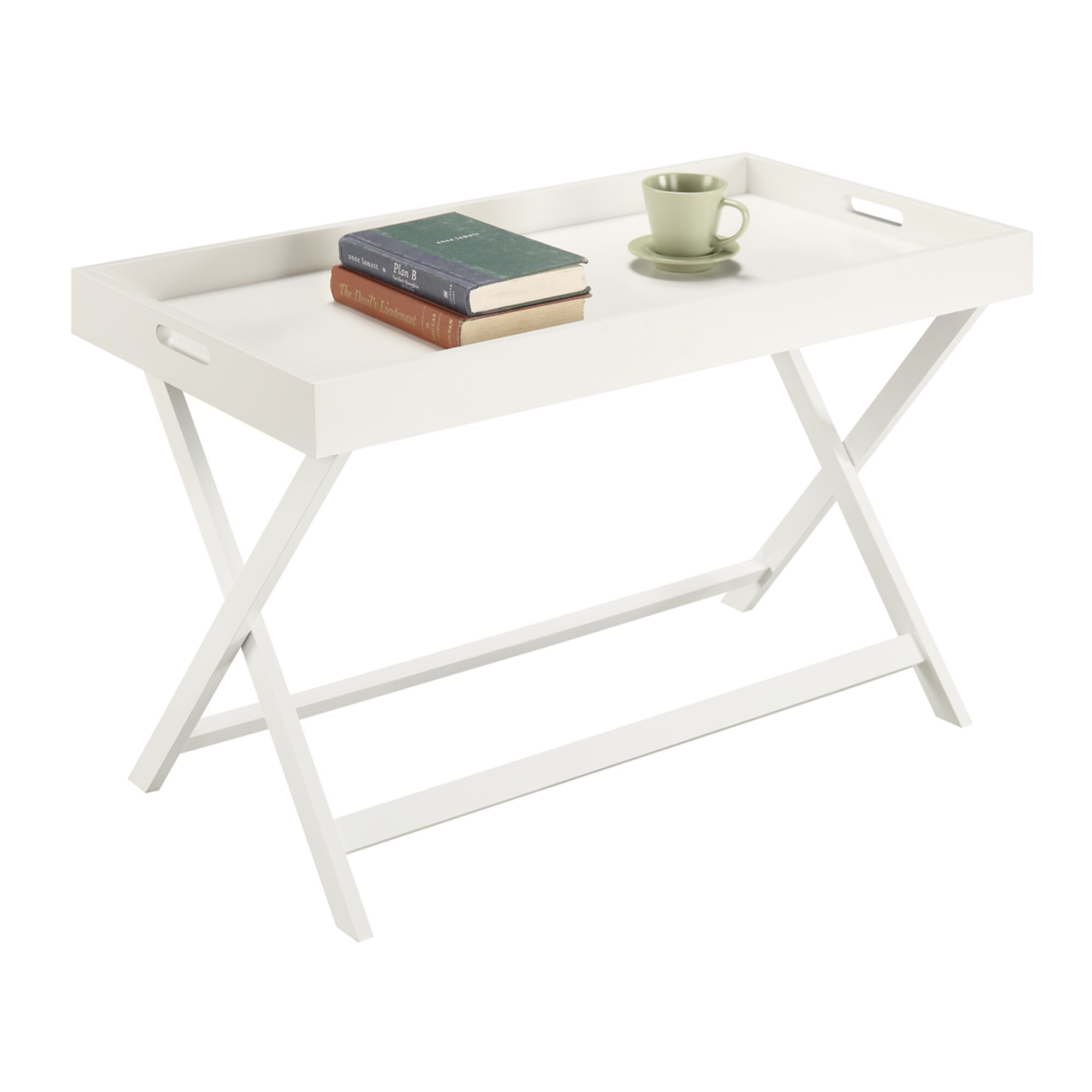 Convenience Concepts Baja Coffee Table With Tray Top Wayfair