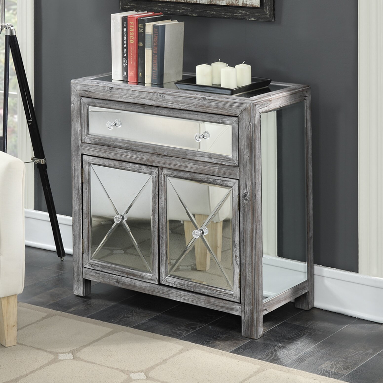 Convenience concepts gold coast vineyard mirrored cabinet for Bathroom cabinets gold coast