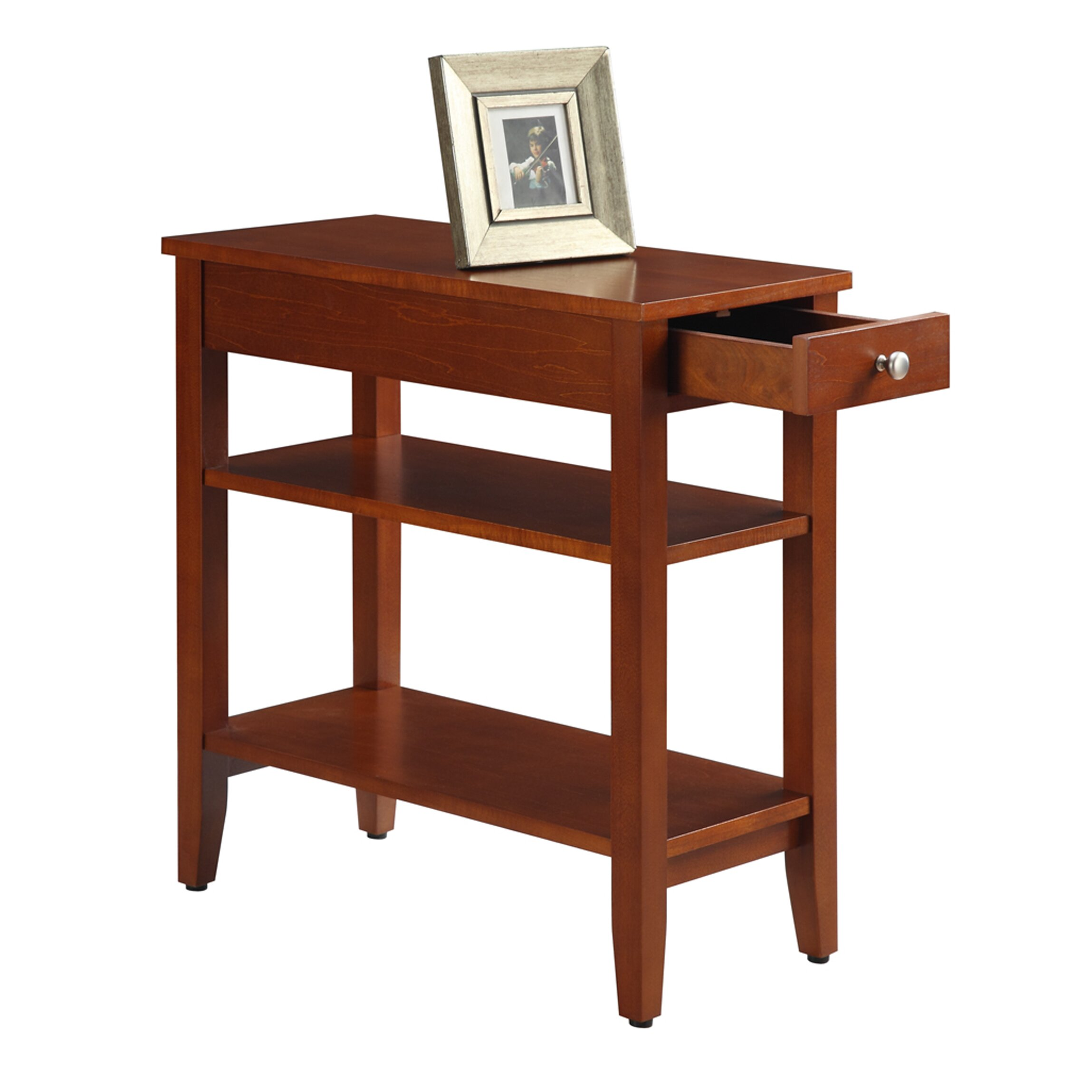 American Heritage End Table: Convenience Concepts American Heritage End Table & Reviews