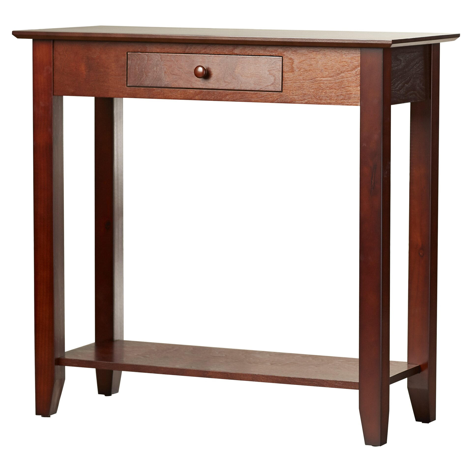 Convenience concepts american heritage console table for Table console