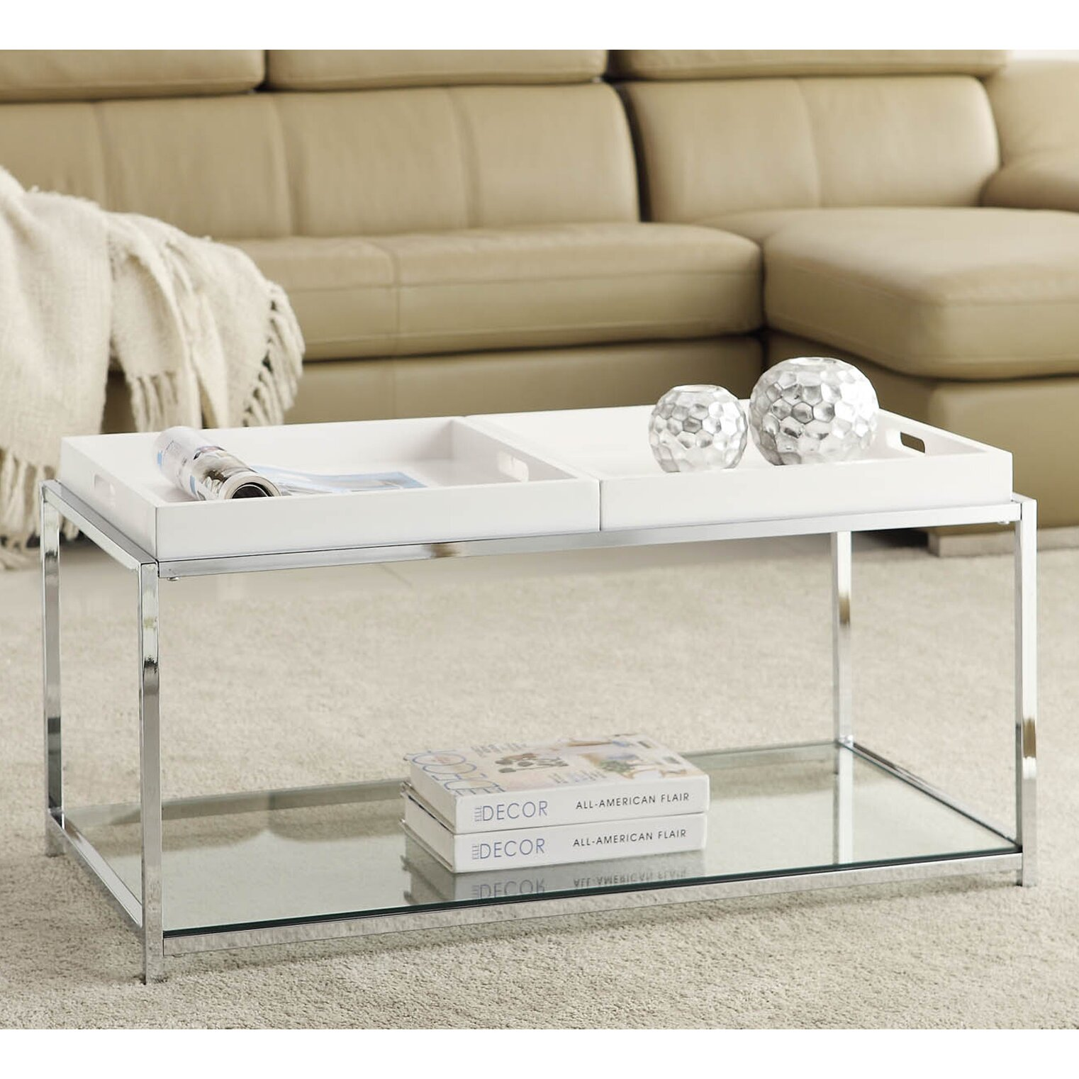 Convenience Concepts Palm Beach Coffee Table Reviews Wayfair