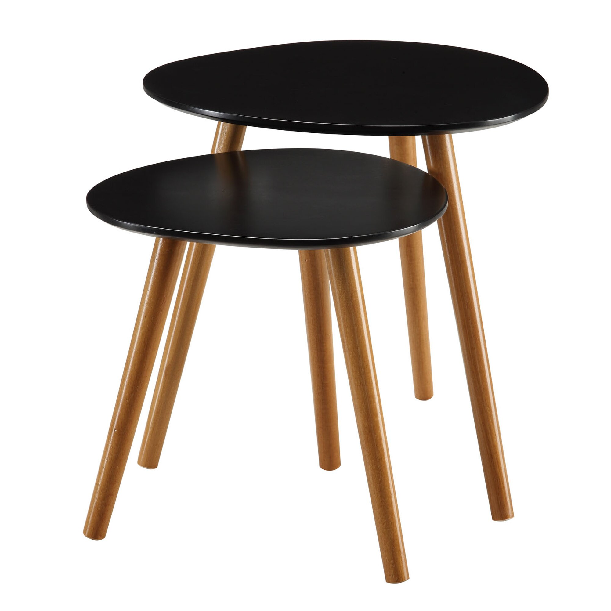Convenience Concepts Oslo 2 Piece Nesting Table & Reviews | Wayfair