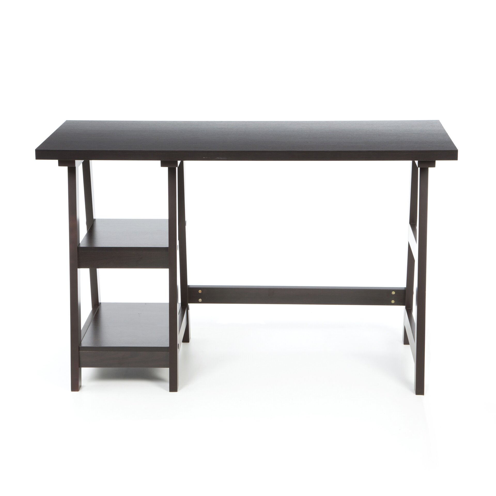 Superb Convenience Concepts Trestle Desk #1: Trestle%2BWriting%2BDesk.jpg