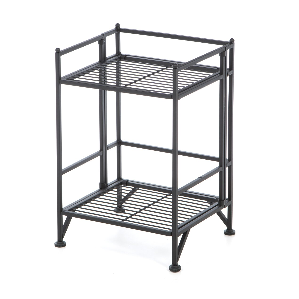 Convenience concepts xtra storage 2 tier folding shelf 20 Folding bookshelf