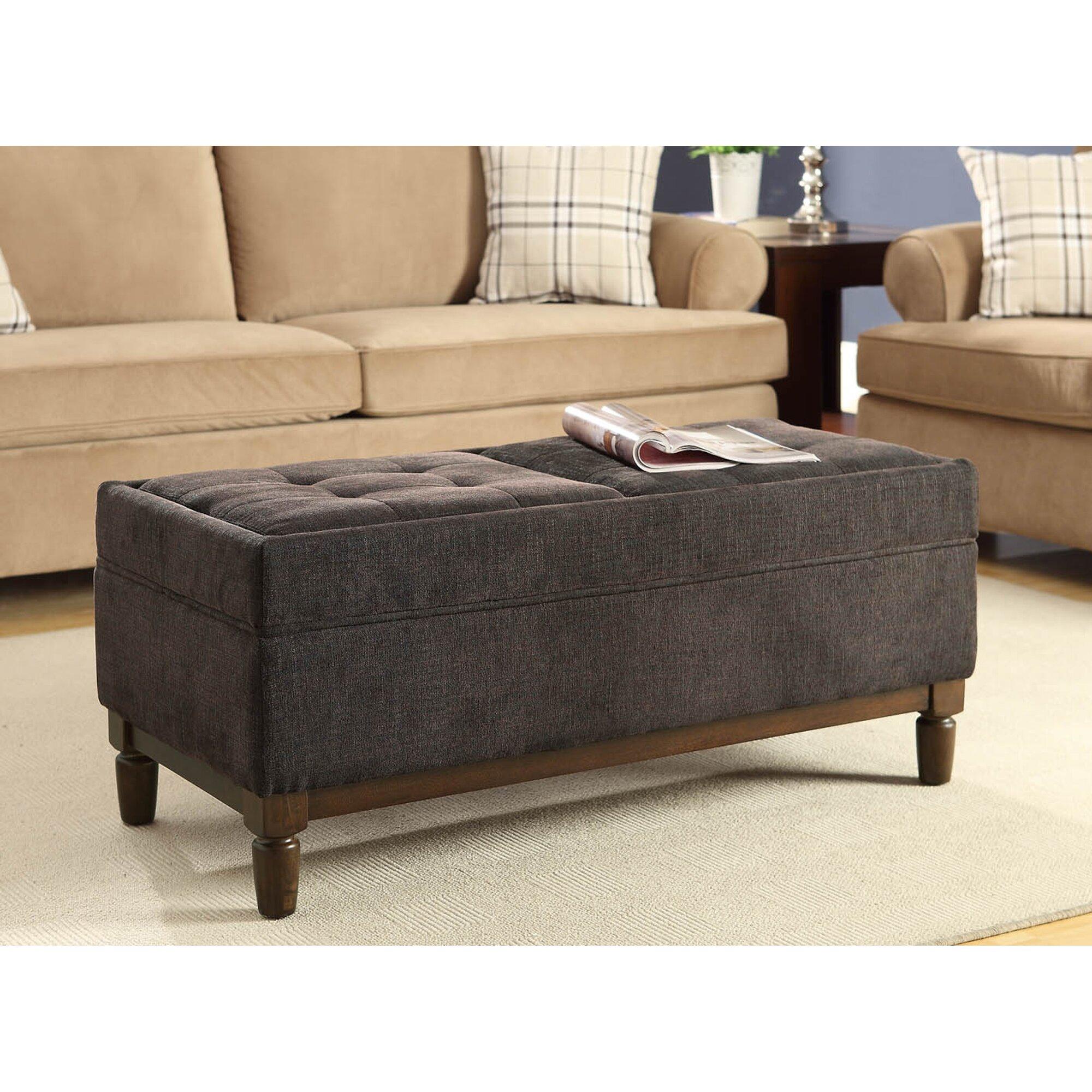 Convenience concepts designs 4 comfort sutton place for Convenience concepts storage ottoman