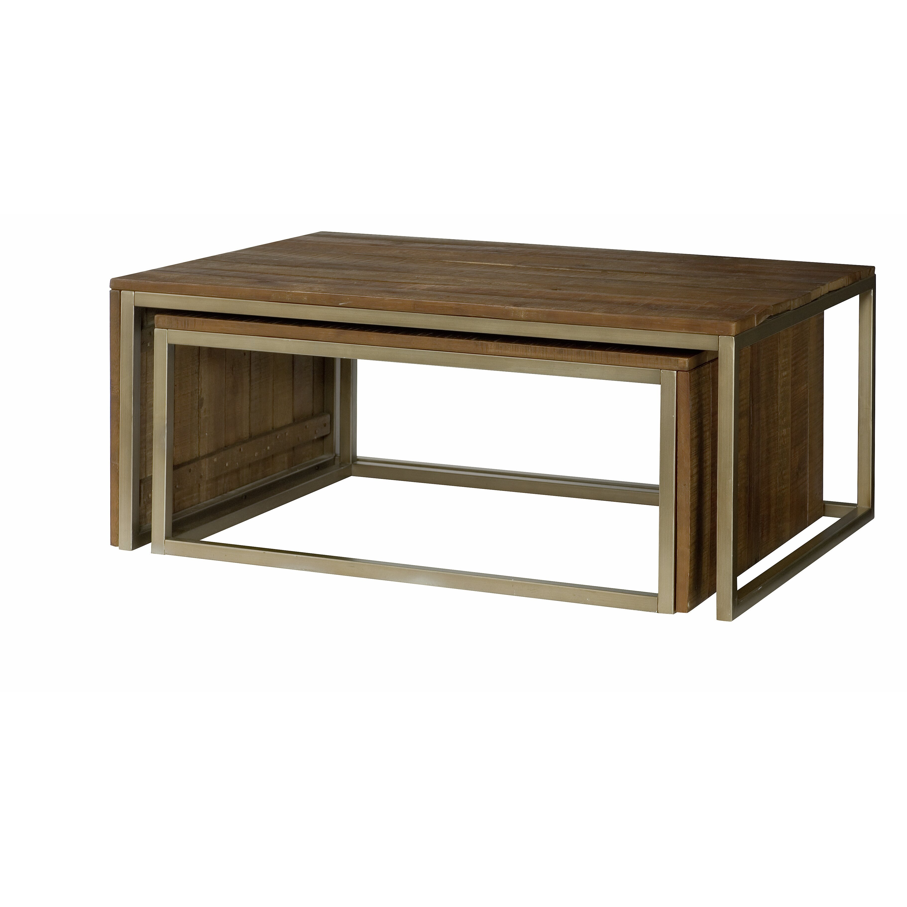 Hammary Flashback Nesting Coffee Table & Reviews | Wayfair