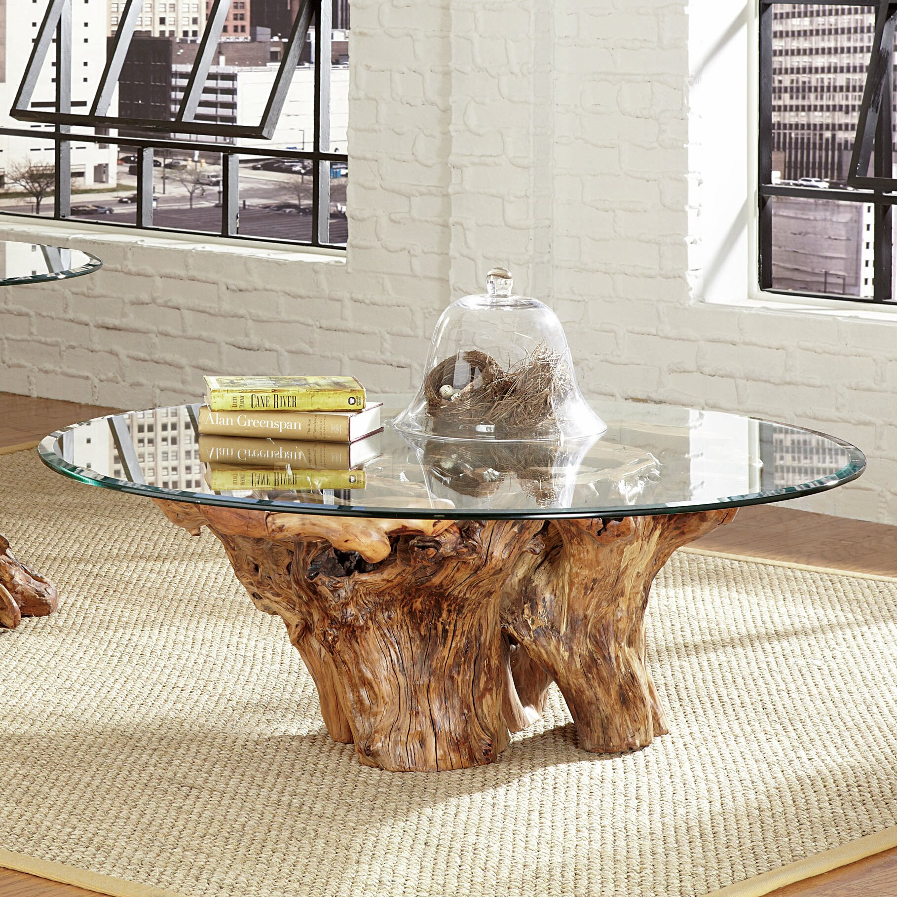Hammary Hidden Treasures Root Ball Coffee Table & Reviews
