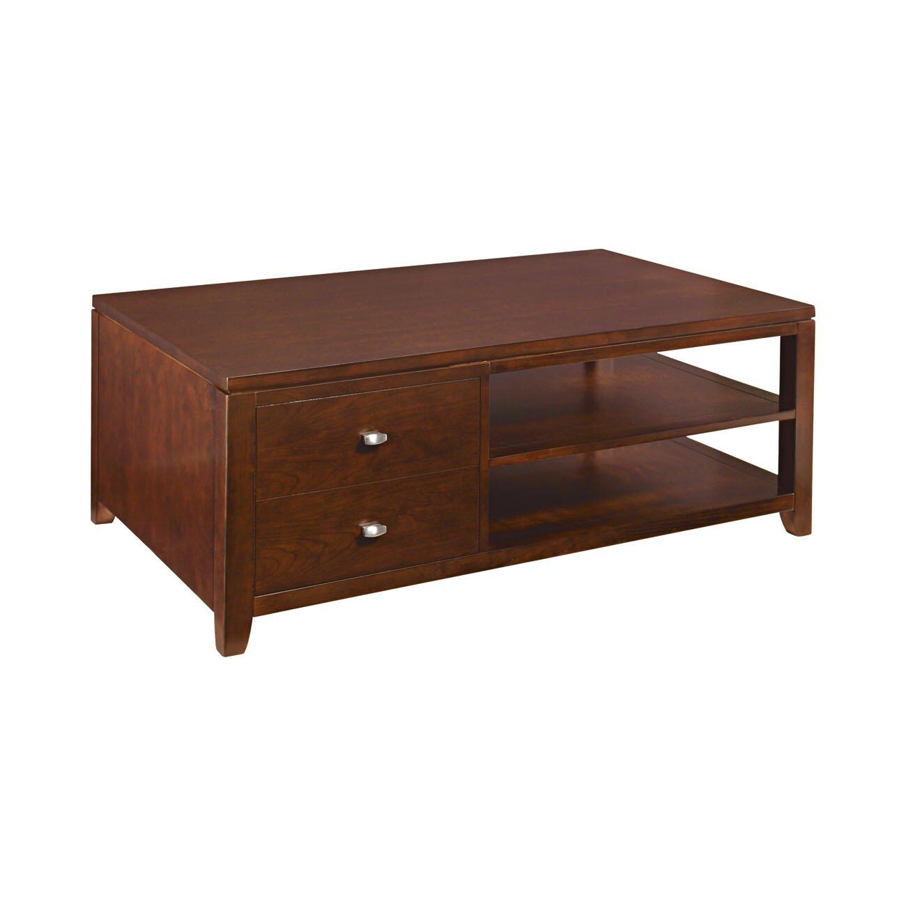 hammary tribecca coffee table wayfair. Black Bedroom Furniture Sets. Home Design Ideas