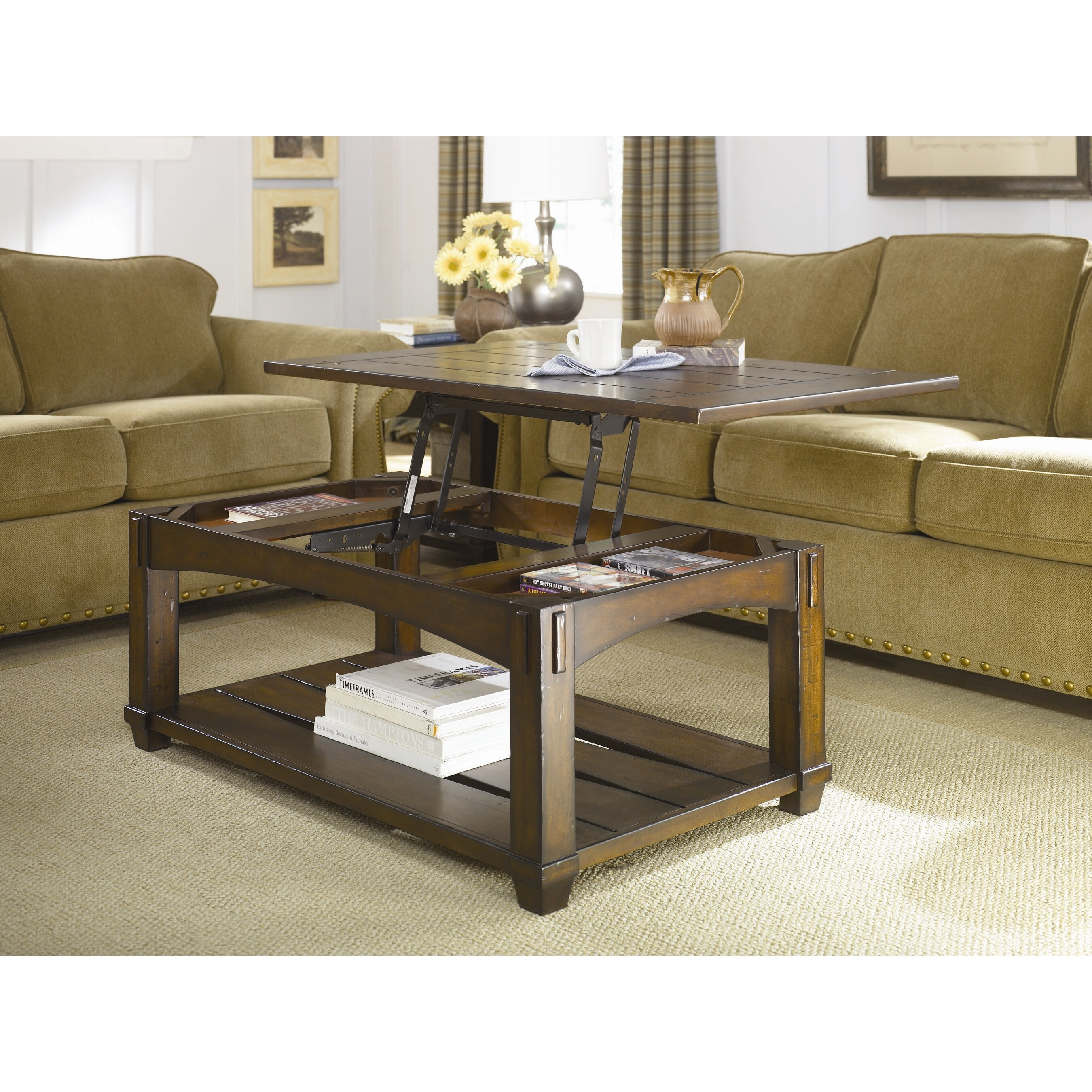hammary tacoma coffee table set reviews wayfair. Black Bedroom Furniture Sets. Home Design Ideas