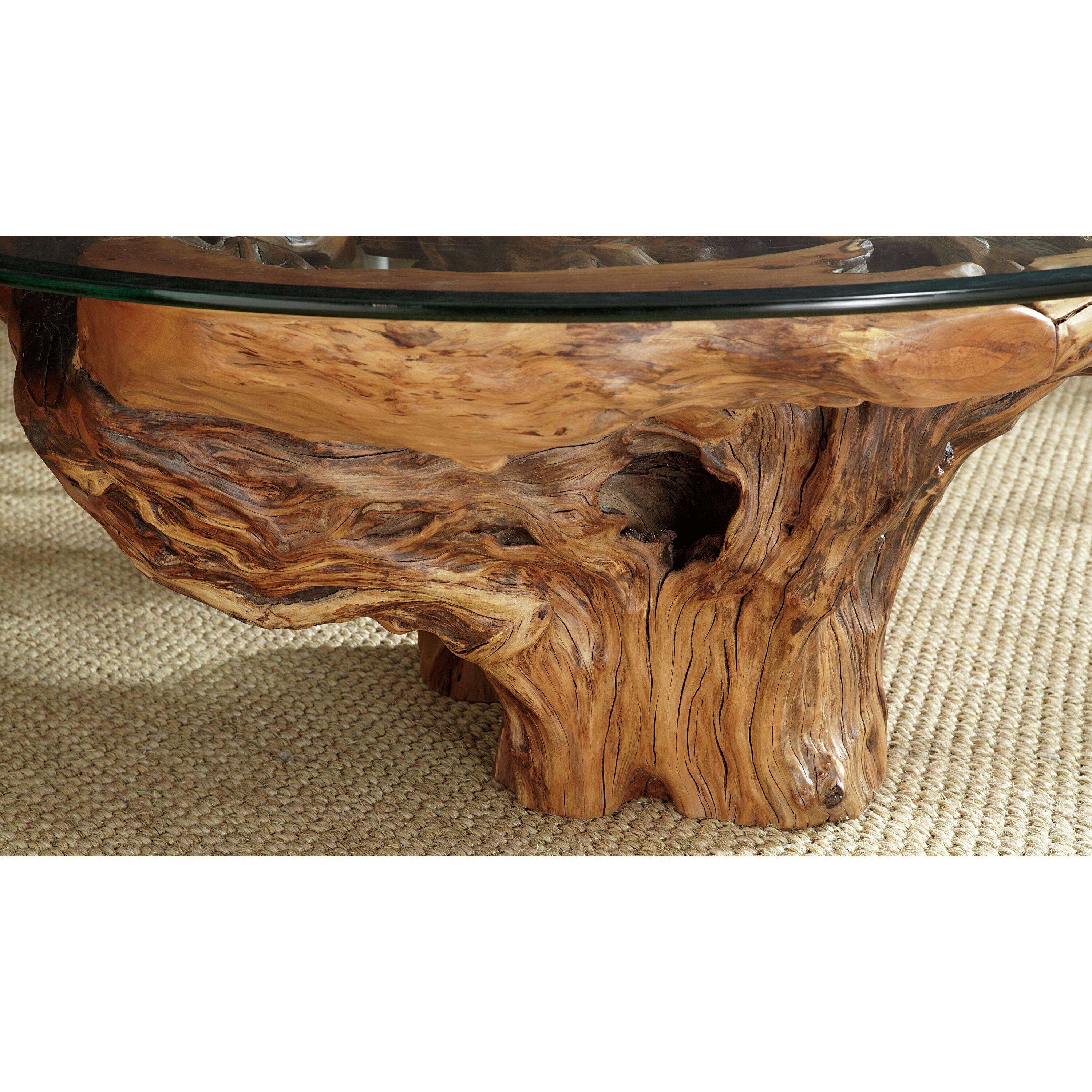 Root End Table: Hammary Hidden Treasures Root Ball Coffee Table & Reviews