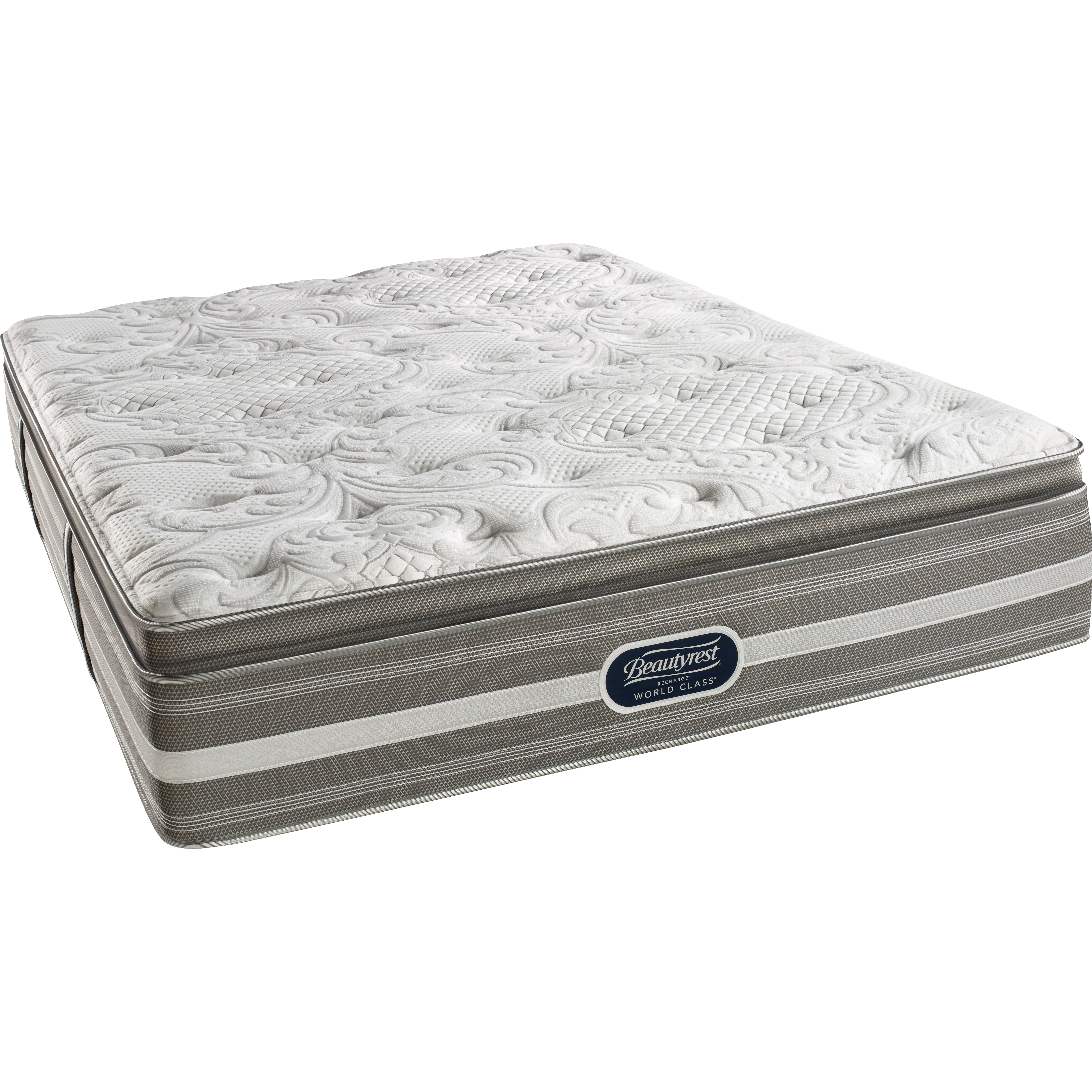 Pillow Top Mattress: Simmons Beautyrest BeautyRest Recharge World Class Coral