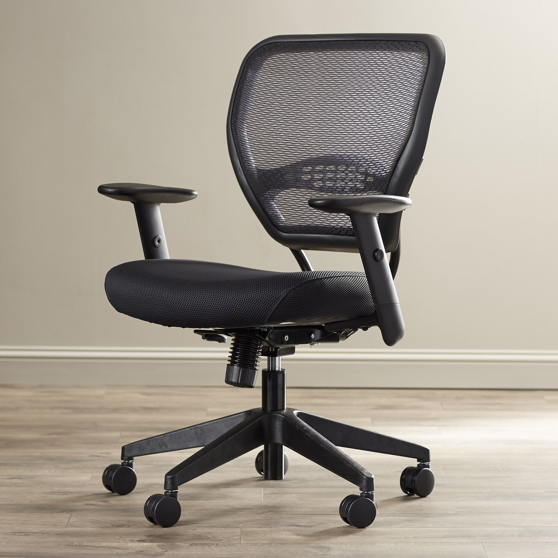 office star space mid back mesh desk chair reviews