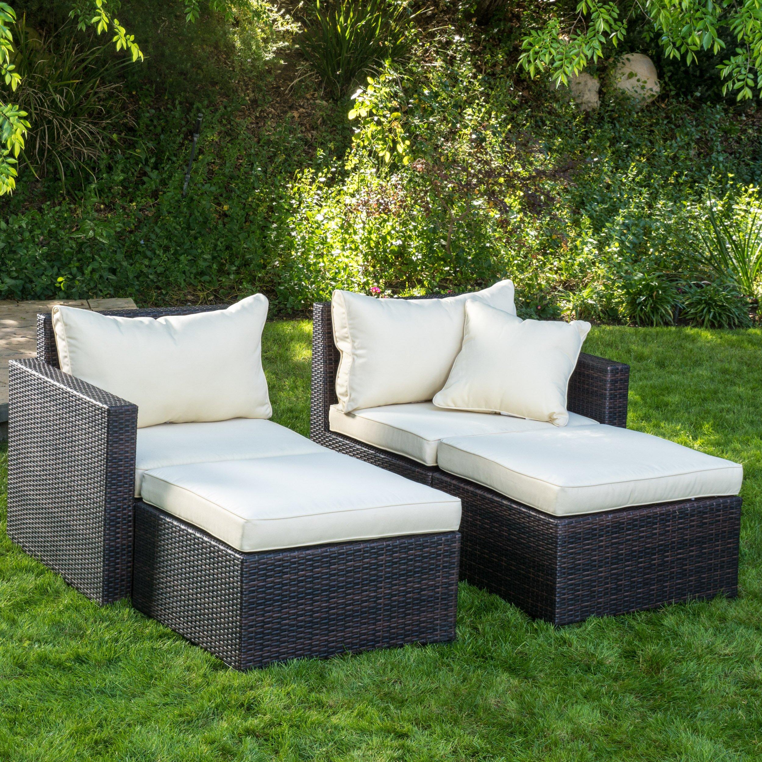 Home Loft Concepts Pinecrest 2 Piece Chaise Lounge Set