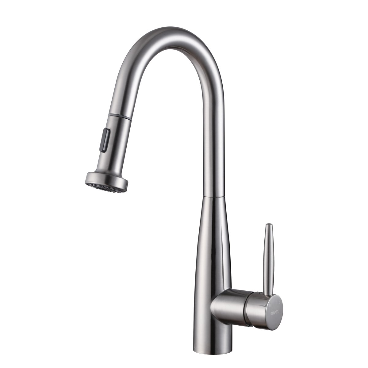 ruvati turino single handle kitchen faucet with pull out tru faucets single handle kitchen faucet pullout spray