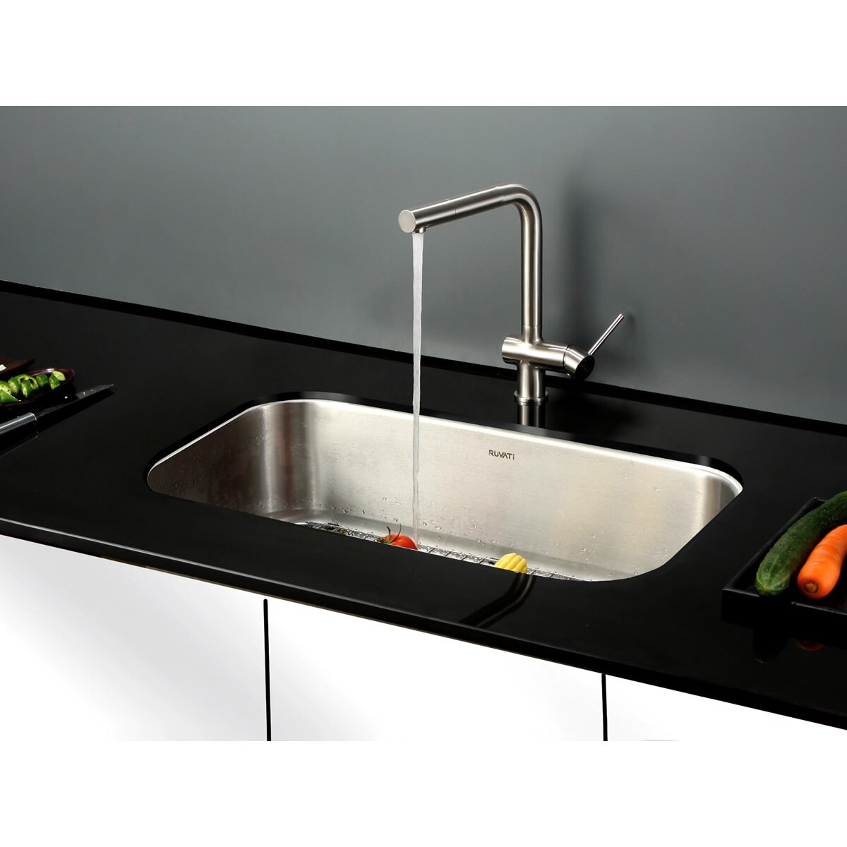 25 inch undermount kitchen sink ruvati parmi 31 5 quot x 18 25 quot undermount single bowl kitchen 7307