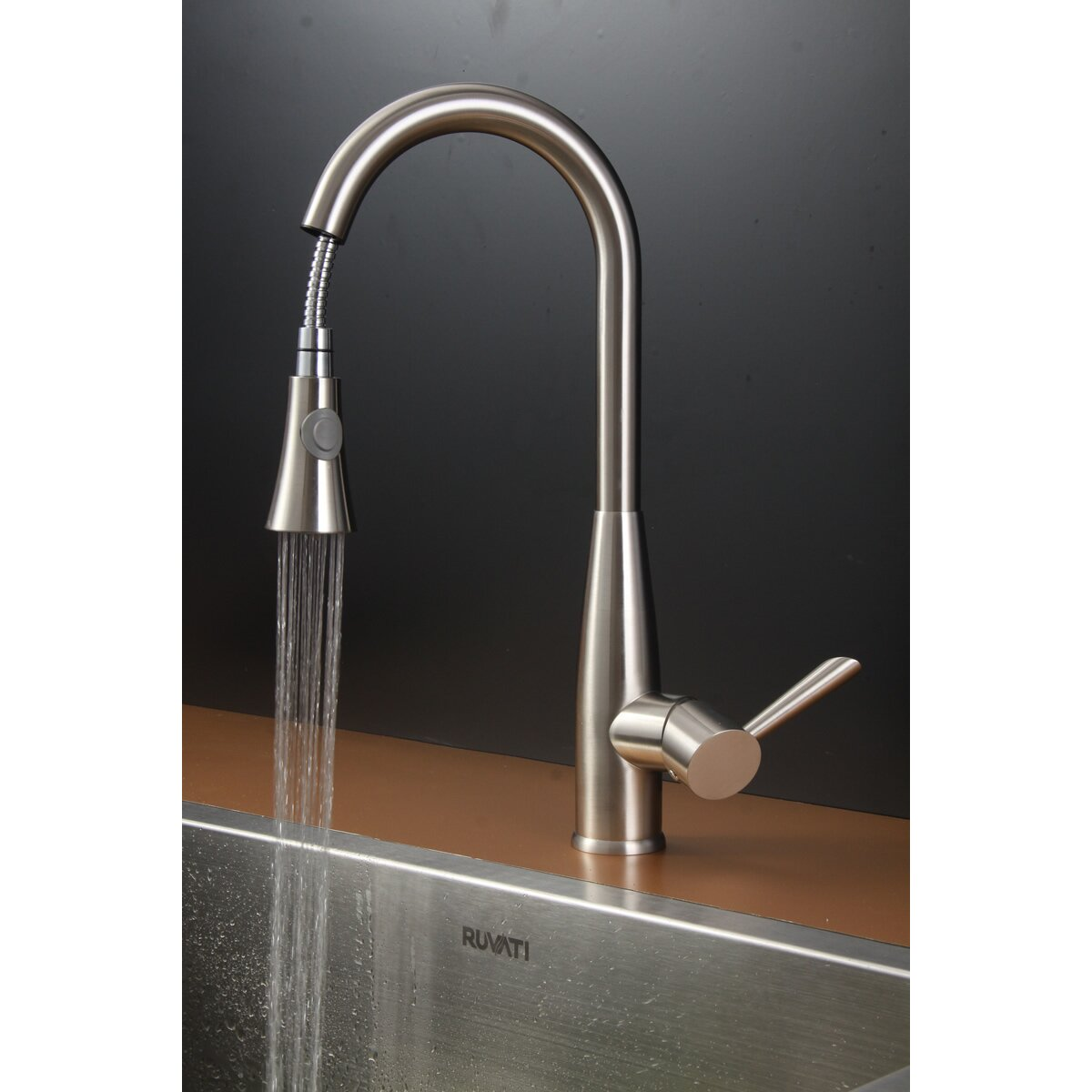 """Ruvati 30"""" x 21"""" Kitchen Sink with Faucet & Reviews"""