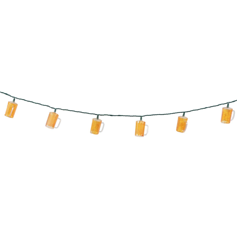 DEI 10-Light 8.5 ft. Beer Stein Novelty String Lights & Reviews Wayfair.ca