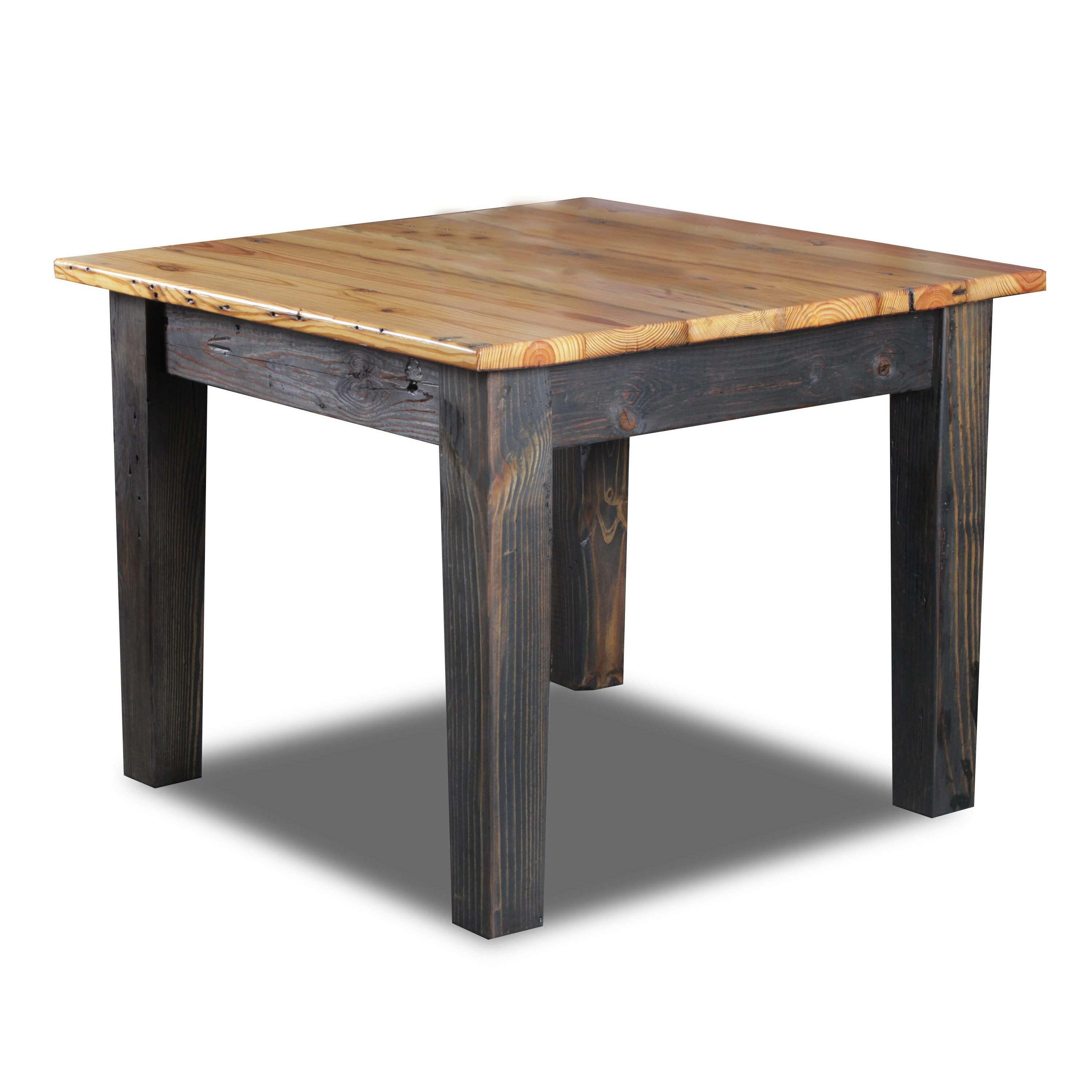 Vintage flooring and furniture farm bar height dining for Farmhouse counter height table