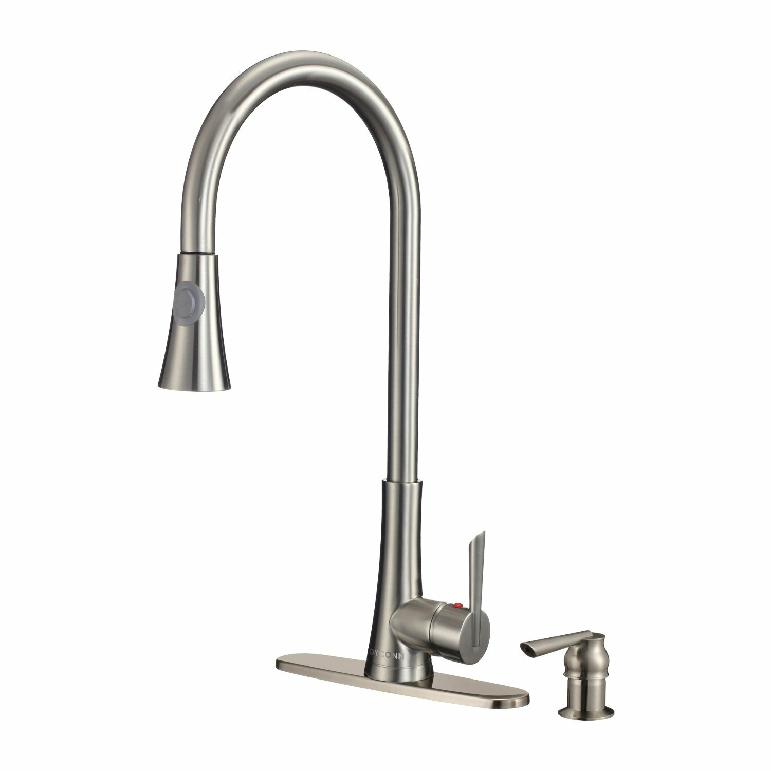 dyconn faucet celtic single handle pull out kitchen faucet best pull out kitchen faucet