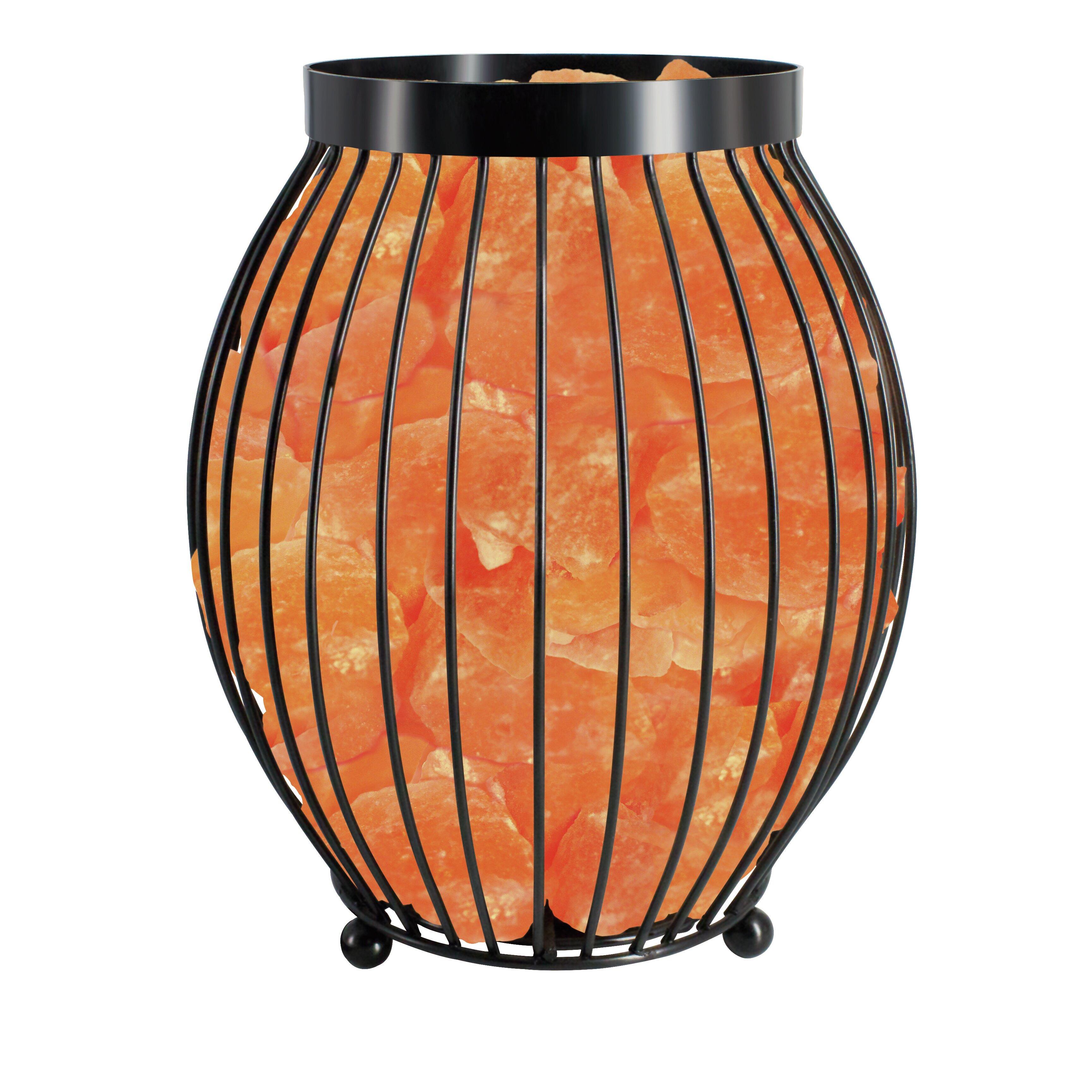 Wbm llc himalayan glow 8 3 table lamp reviews wayfair for Himalayan glow salt crystal lamp reviews