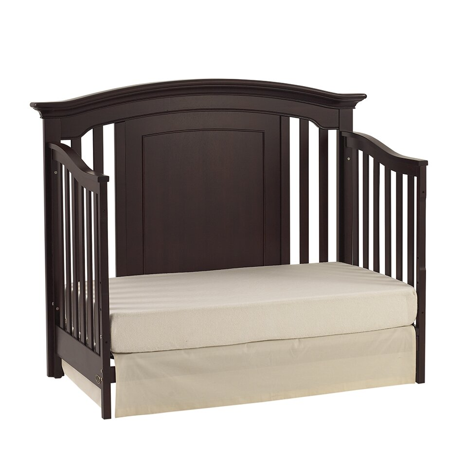 Munire Cribs Kingsley Keyport Convertible Crib In White