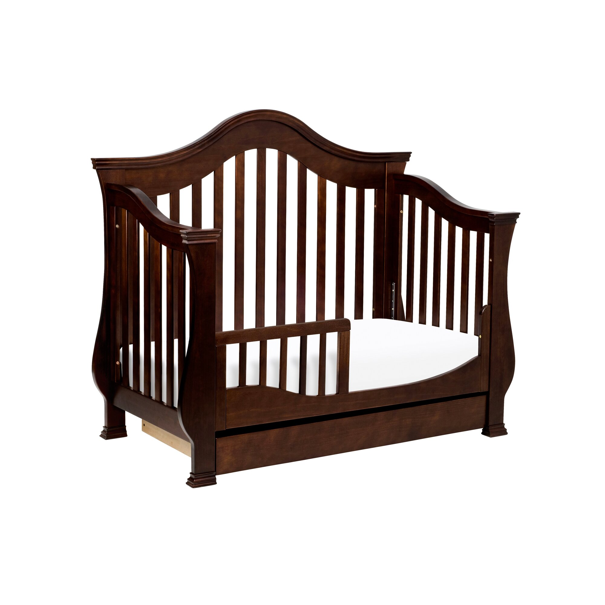 million dollar baby ashbury 4 in 1 convertible crib with