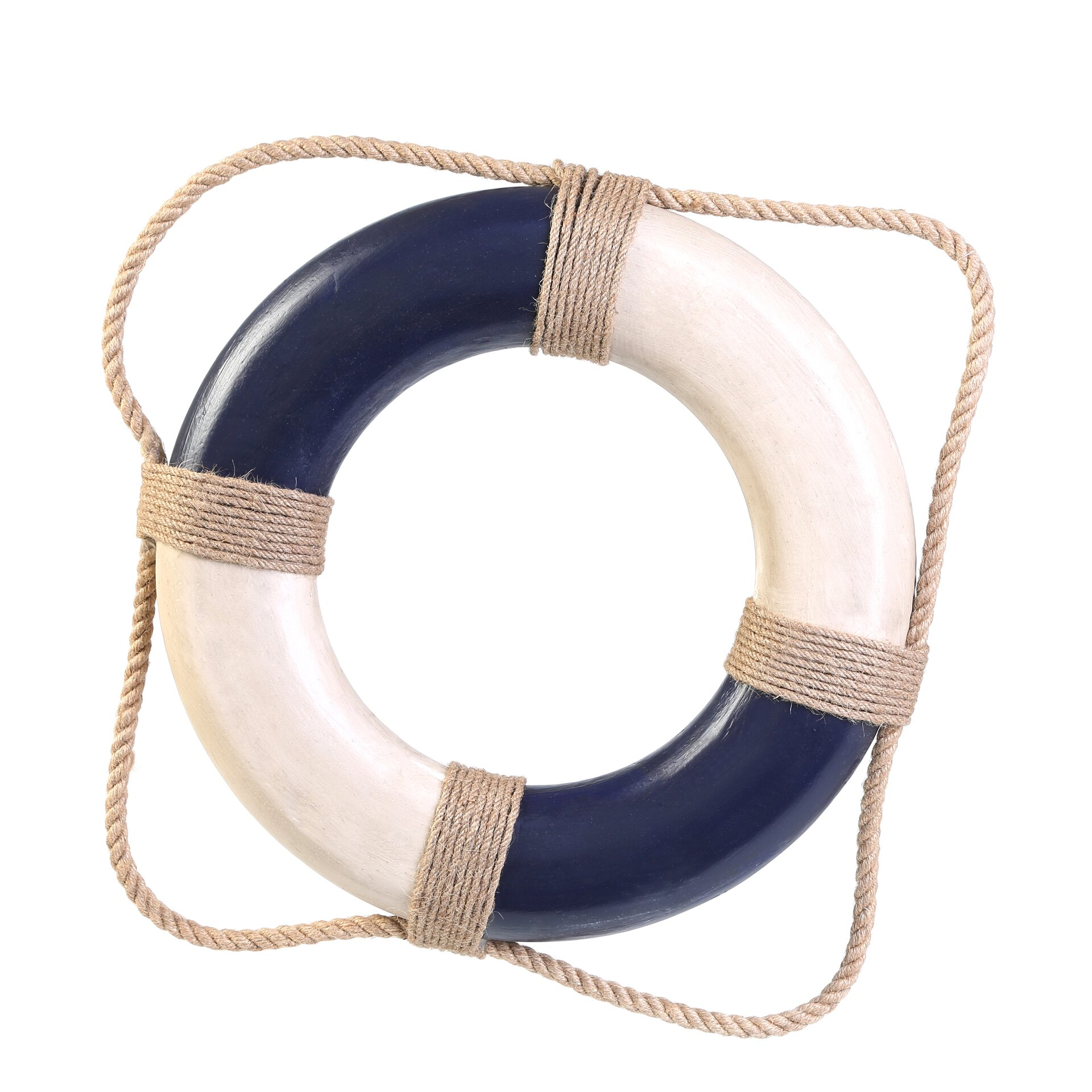 Handcrafted Nautical Decor Antique Life Ring Wall Décor ...  Handcrafted Nau...