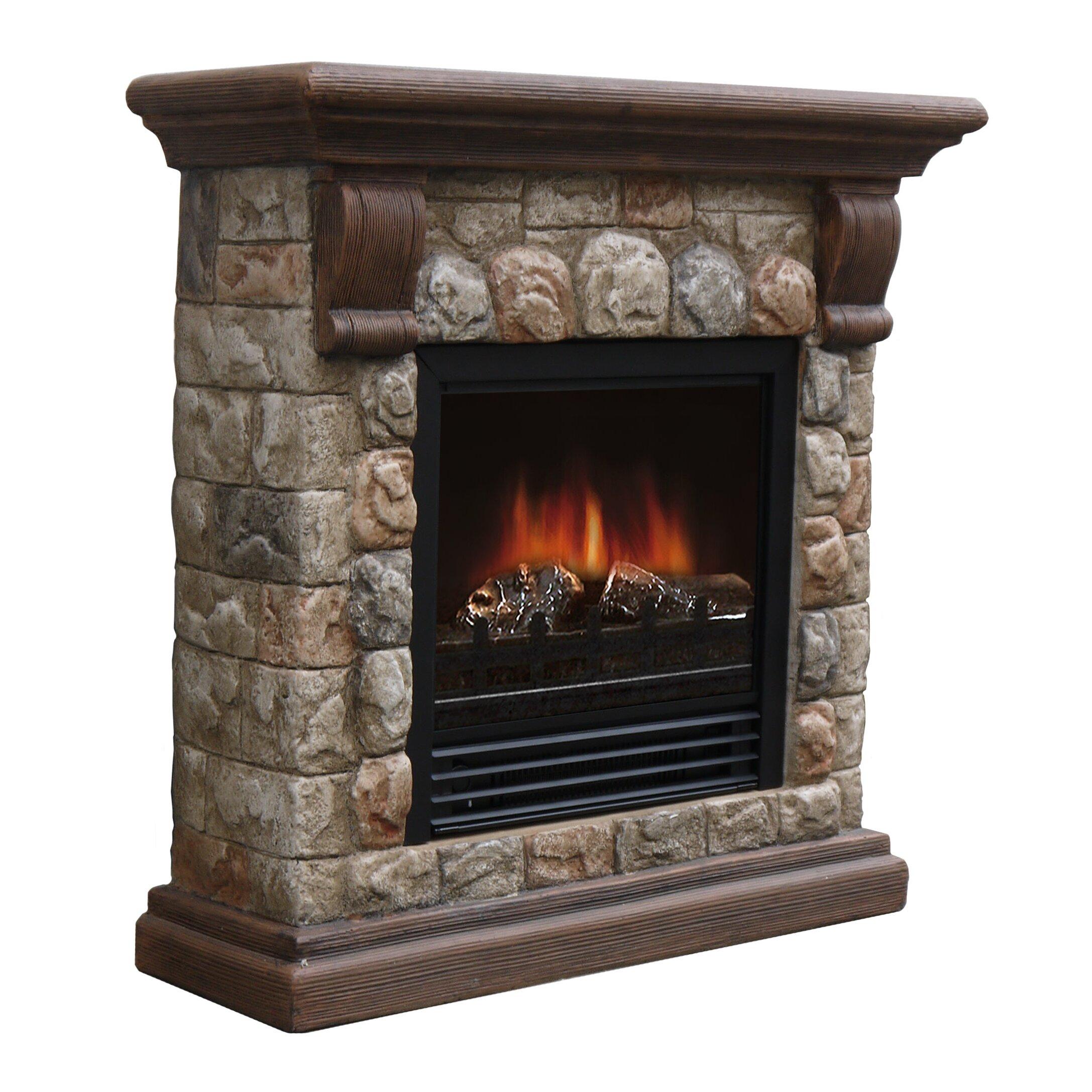 Stonegate Dublin Electric Fireplace Reviews Wayfair