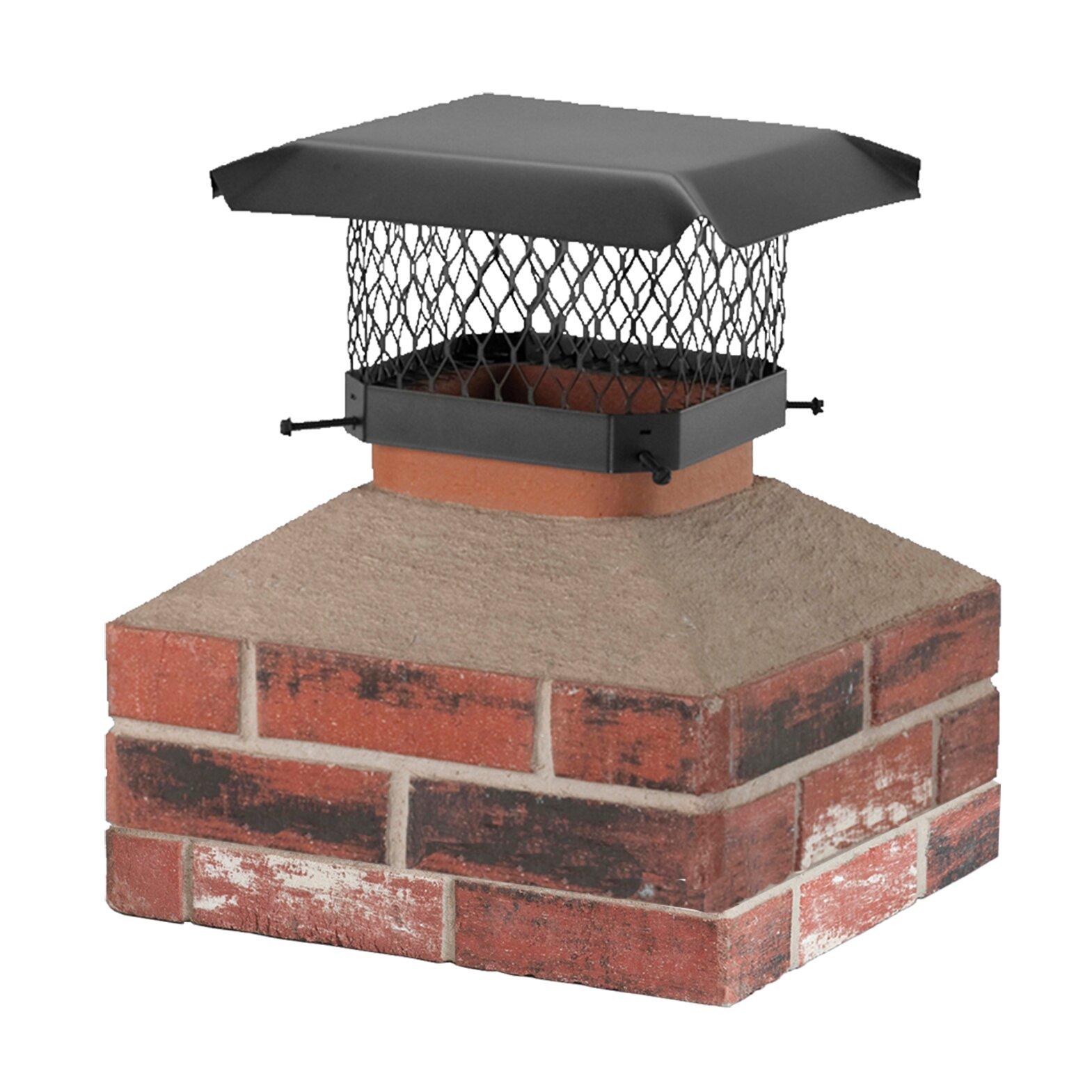 Shelter Shelter Galvanized Steel Chimney Cap Wayfair