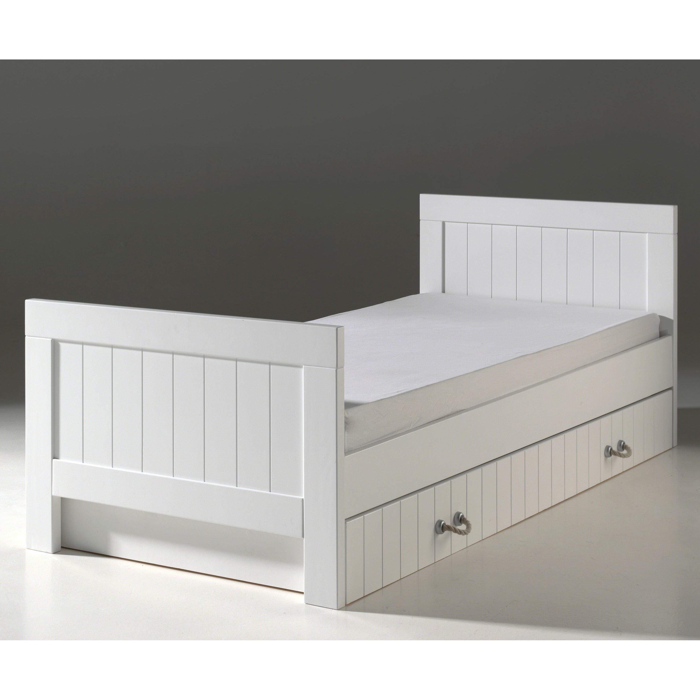vipack bett lewis 90 x 200 cm. Black Bedroom Furniture Sets. Home Design Ideas