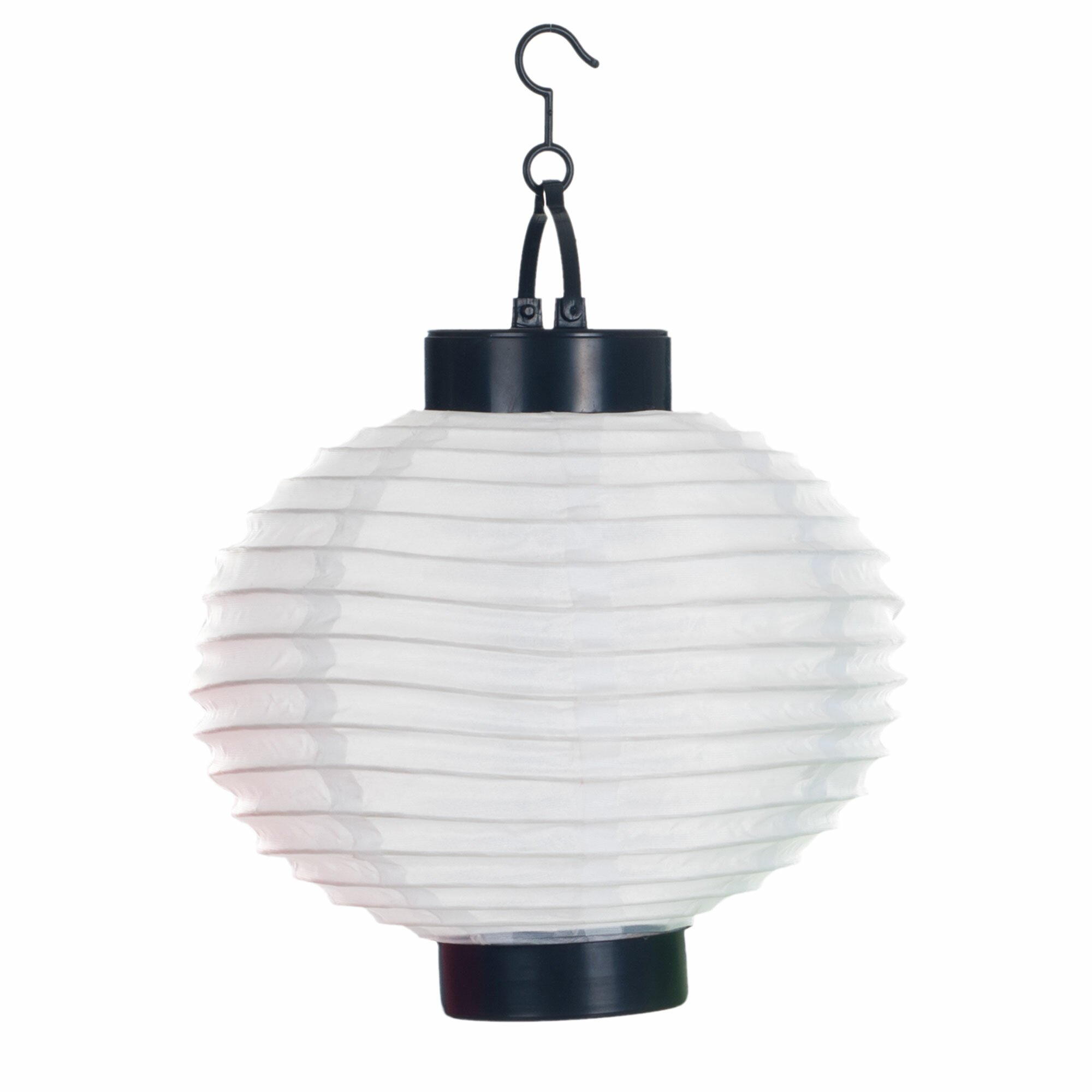 Pure Garden Solar Chinese 4 Light Outdoor Hanging Lantern