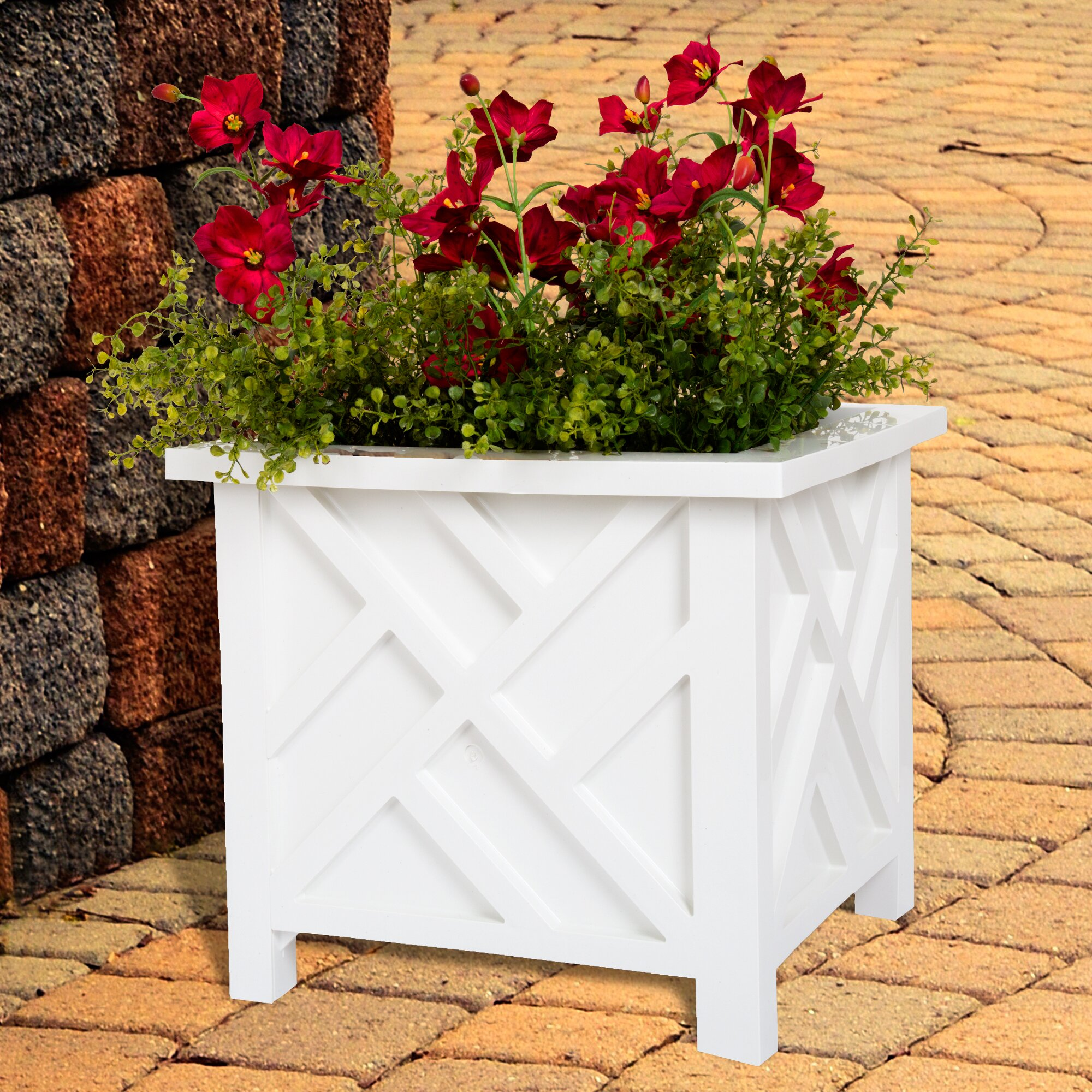 Pure garden planter box reviews wayfair for Wayfair garden box