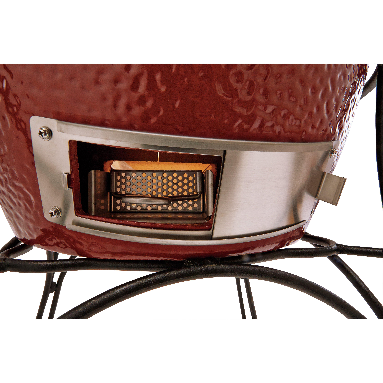 Kamado Joe Classicjoe With Cart Heat Deflector Amp Side
