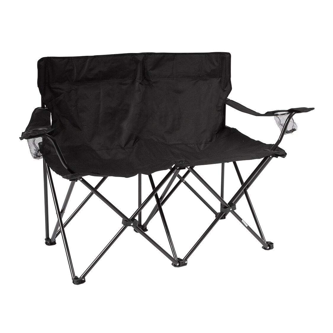 Trademark Innovations Loveseat Style Double Camping Chair