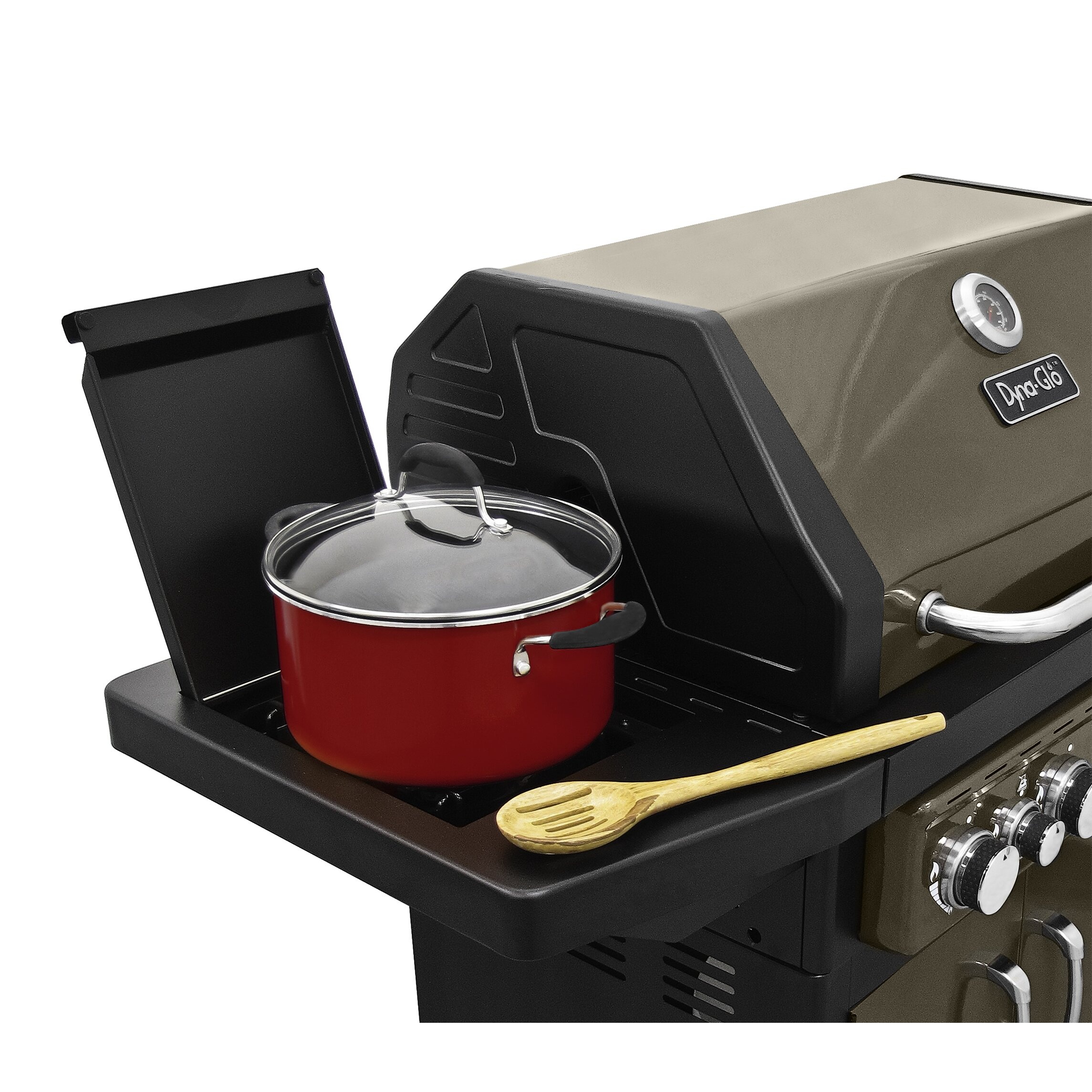 Dyna Glo 4 Burner Gas Grill With Side Burner And Electric