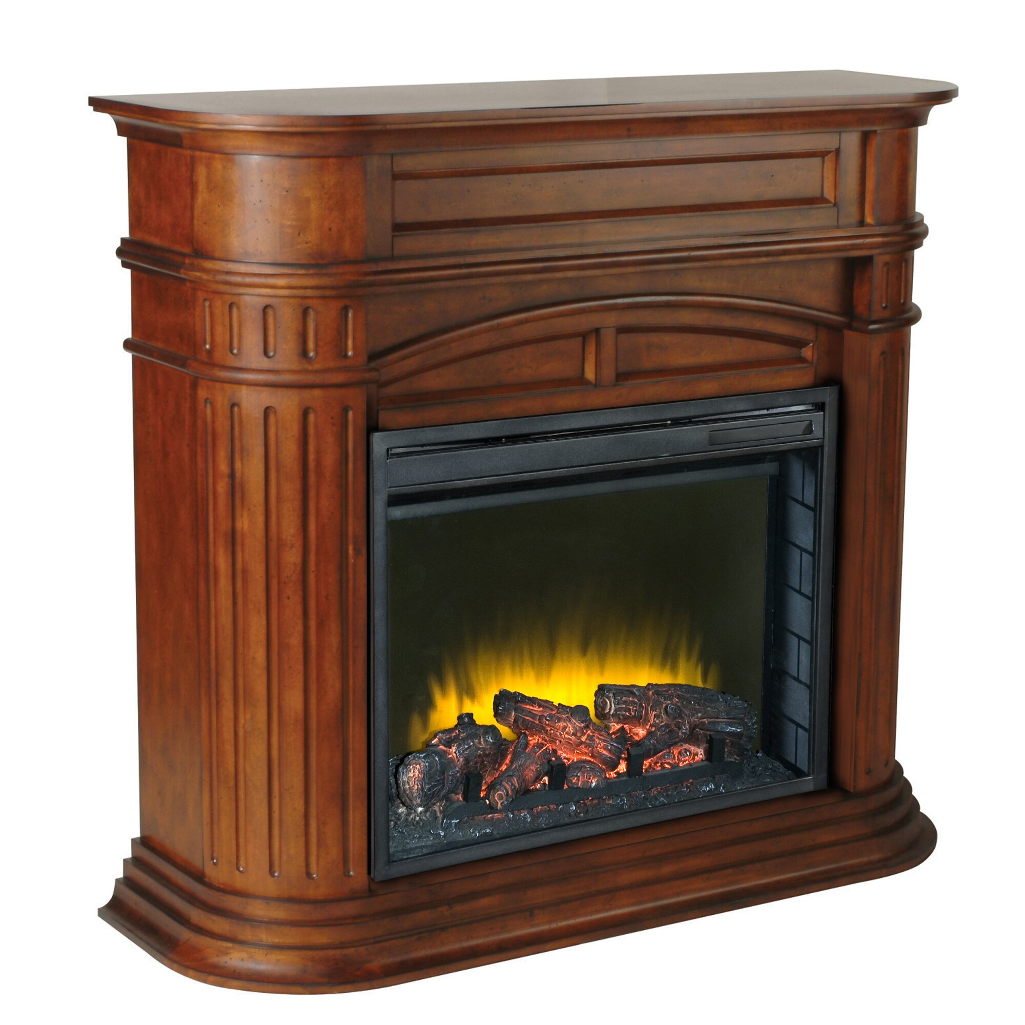 Pleasant Hearth Turin Electric Fireplace Reviews Wayfair