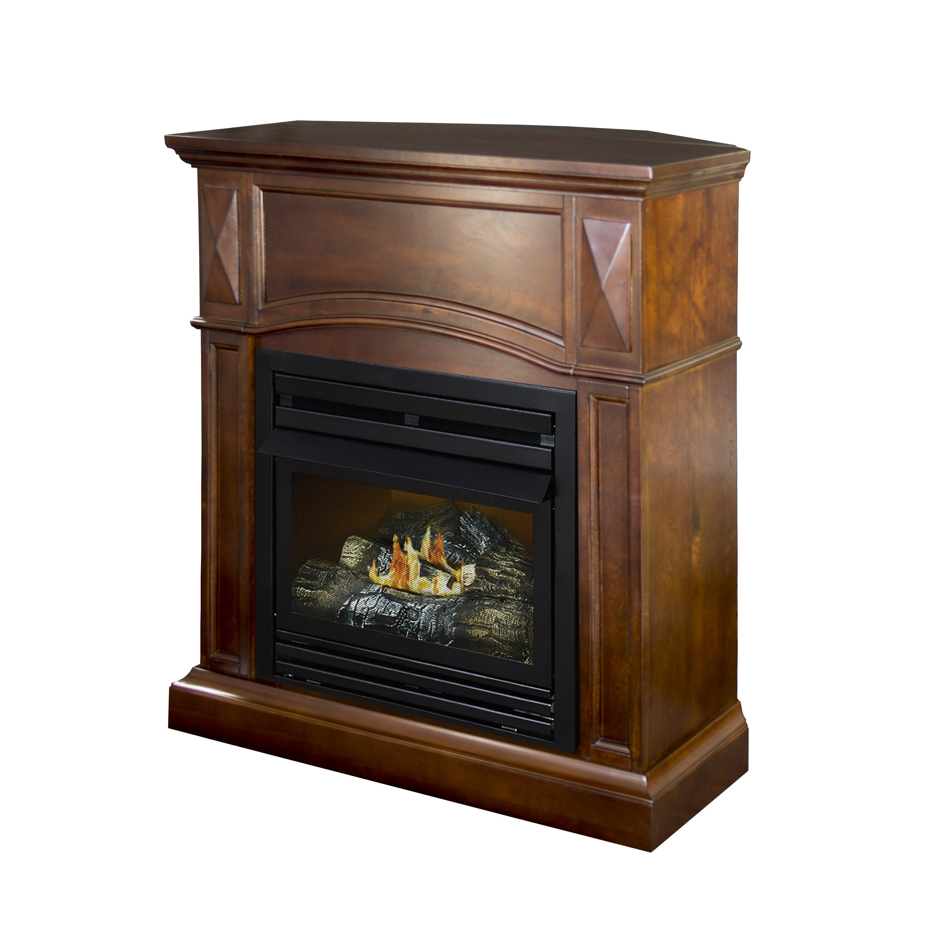 Pleasant Hearth Dual Fuel Vent Free Wall Mount Natural Gas Fireplace Reviews Wayfair