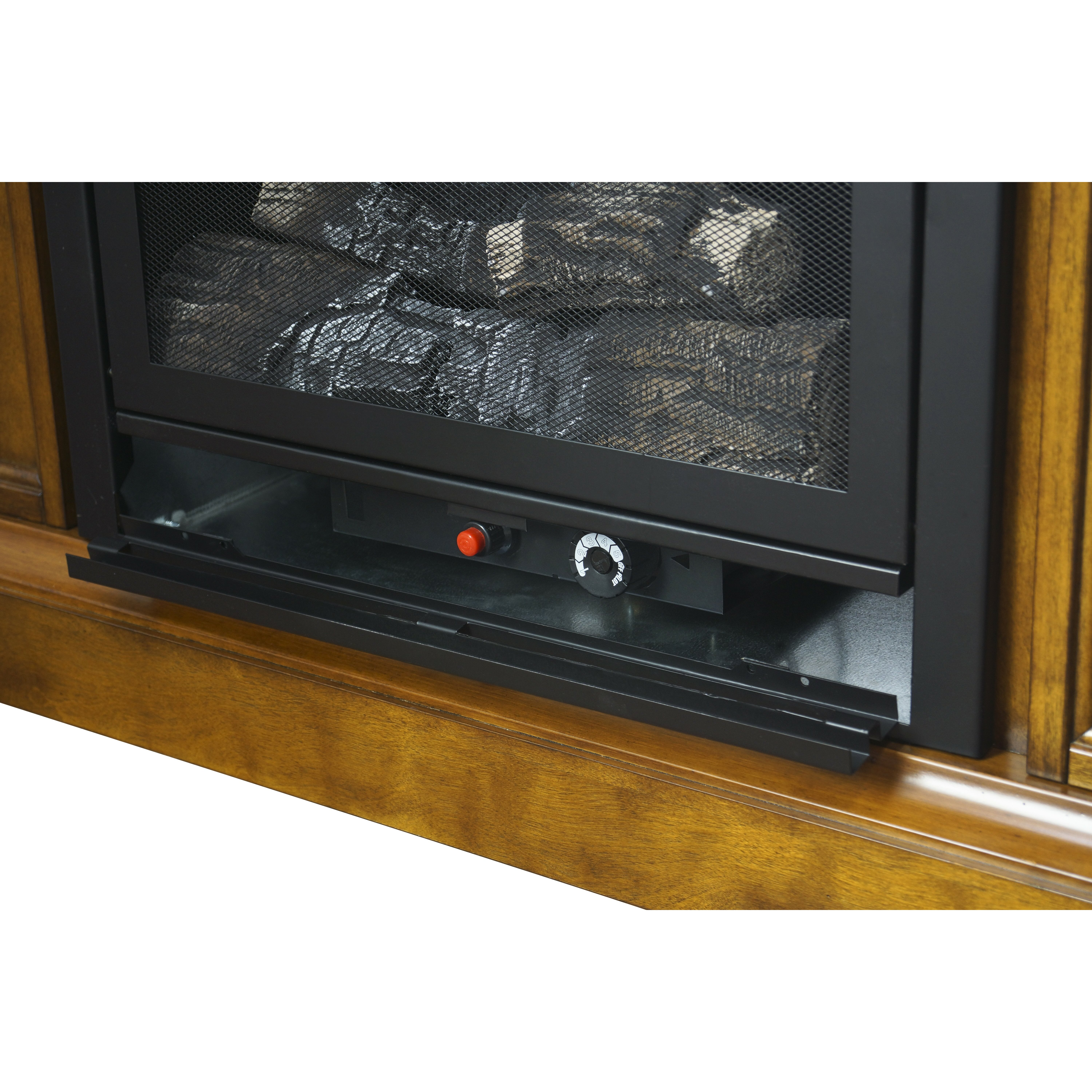 Pleasant Hearth Compact Vent Free Dual Fuel Natural Gas