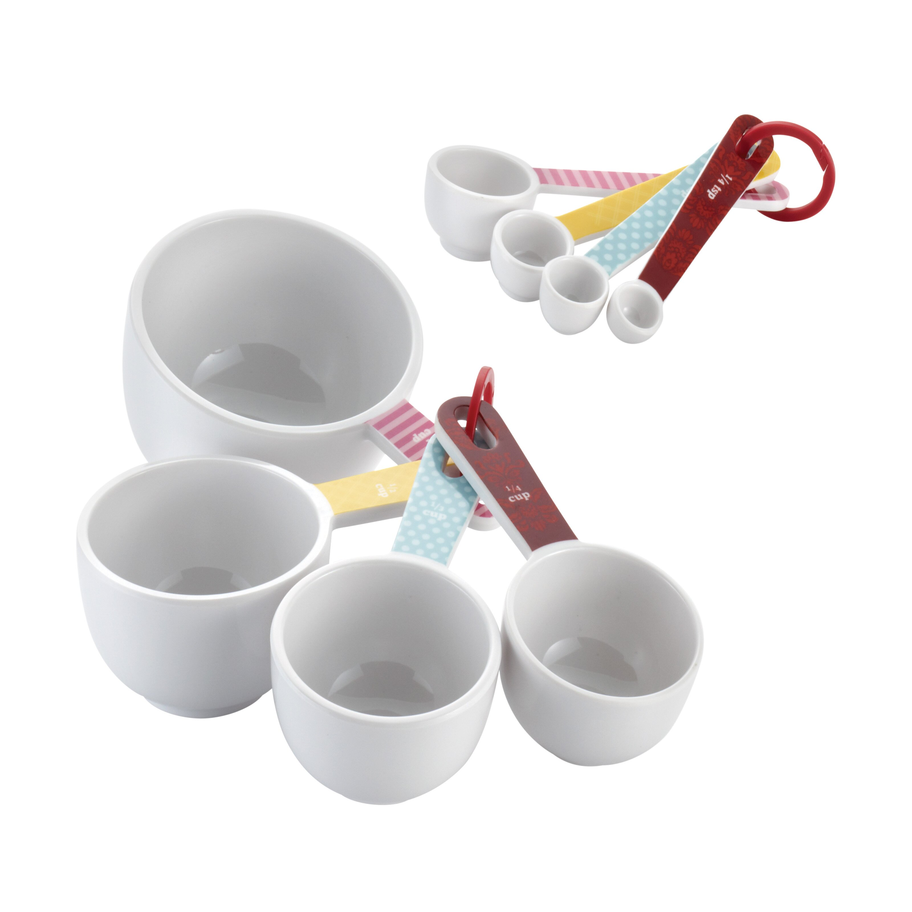 Cake Boss 8 Piece Measuring Cup Amp Spoon Set Amp Reviews