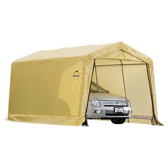 ShelterLogic 10 Ft. W X 15 Ft. D Garage & Reviews