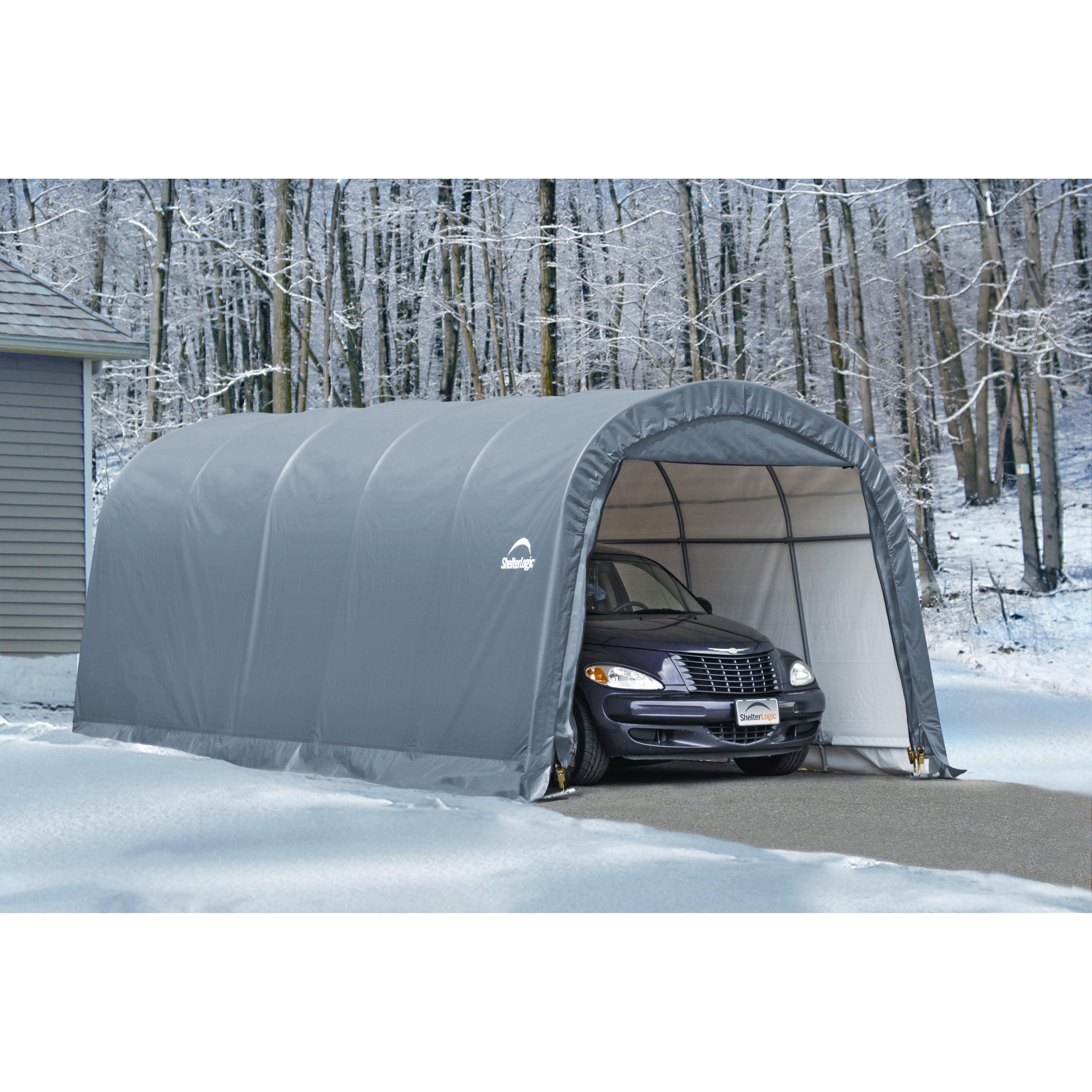 Shelterlogic 10 20 Garage Orshlends : Shelterlogic ft w d garage reviews wayfair