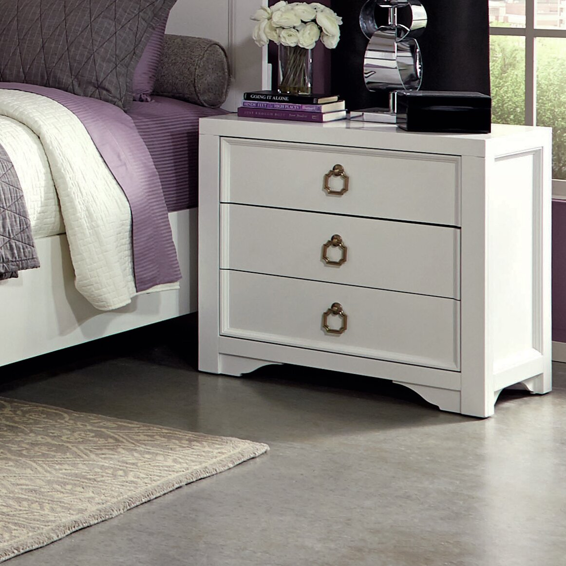 Donny Osmond Storage Bedroom Bench Reviews: Donny Osmond Furiani 3 Drawer Chest