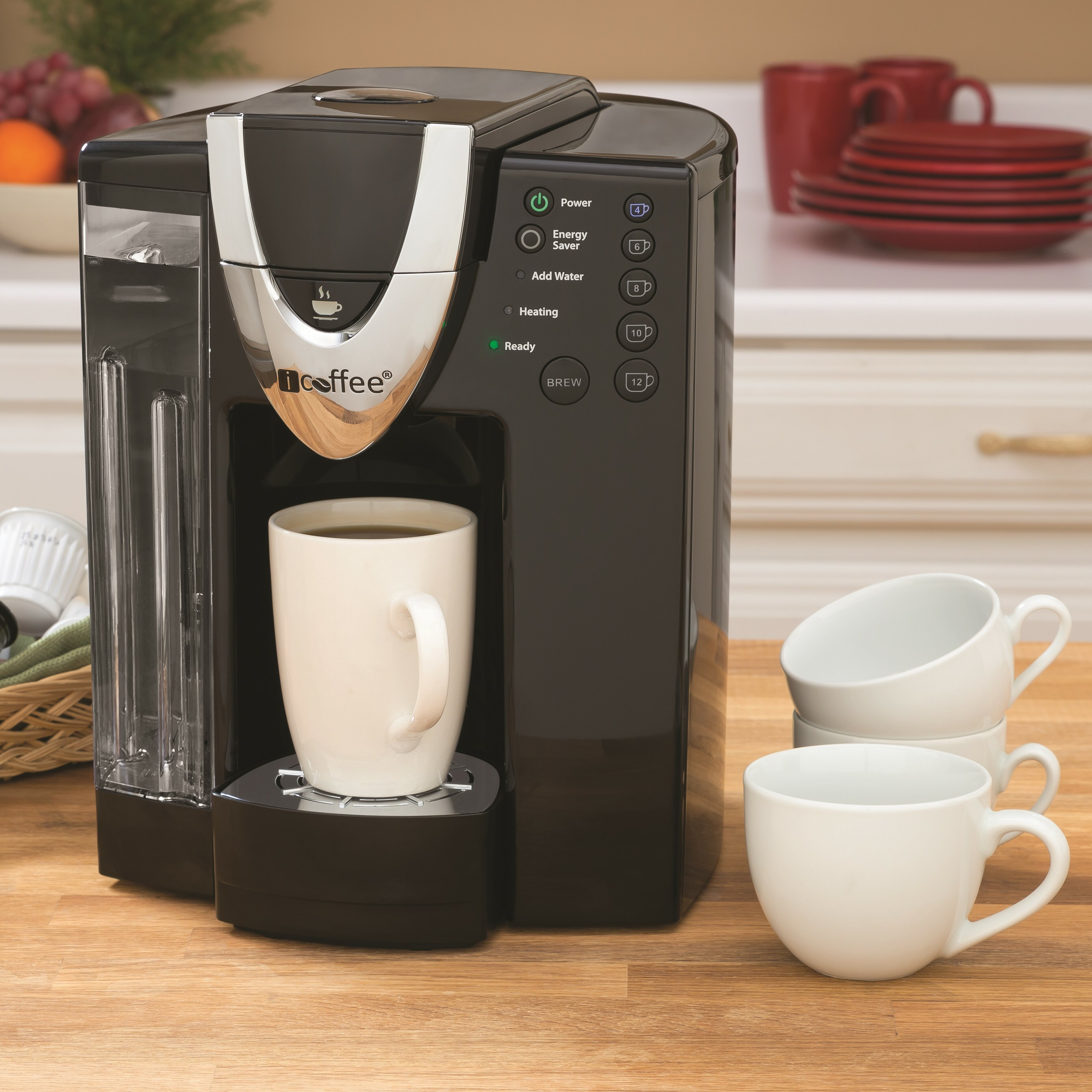 iCoffee DaVinci SpinBrew Single Serve Coffee Brewer & Reviews Wayfair