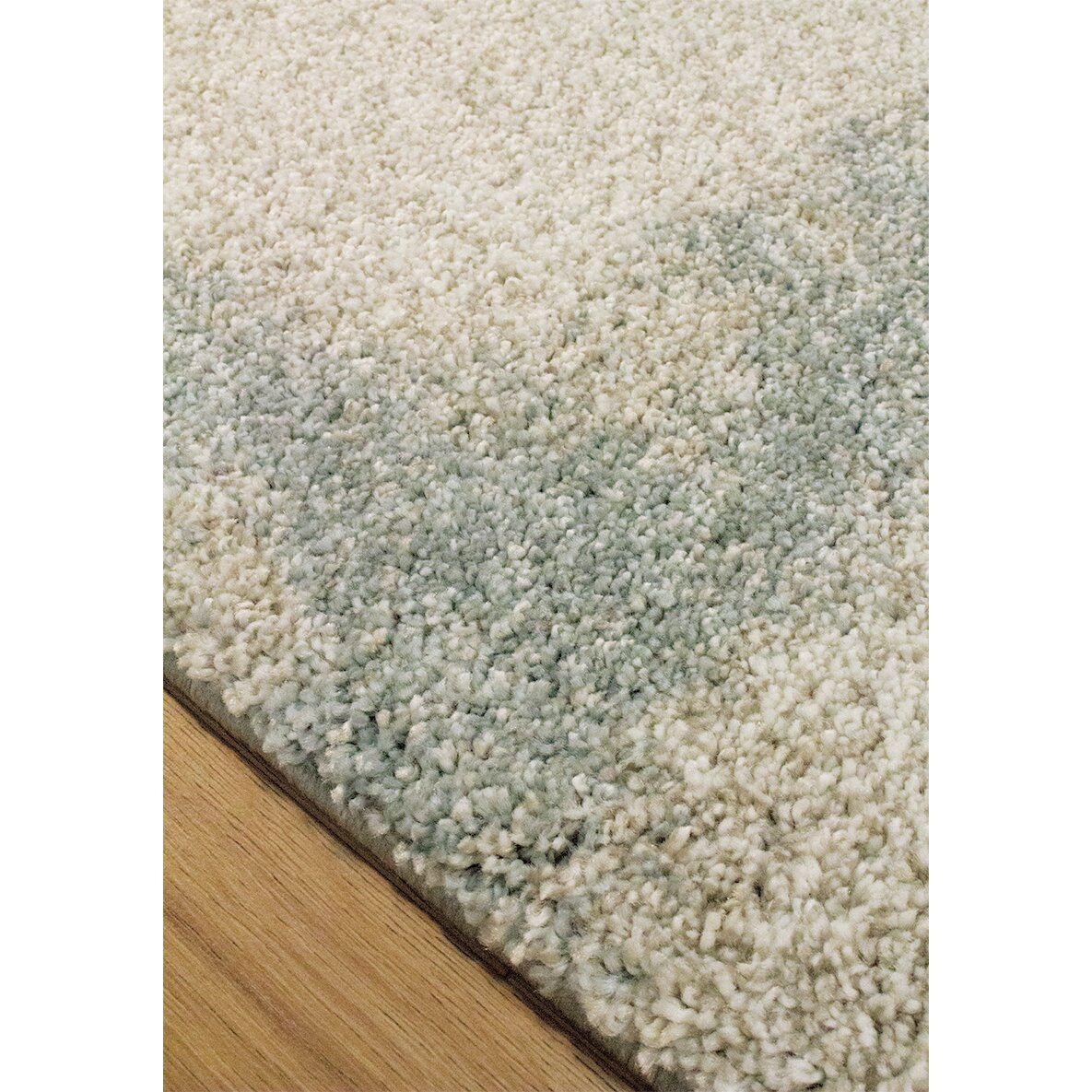 Kalora Sable Cream Blue Area Rug