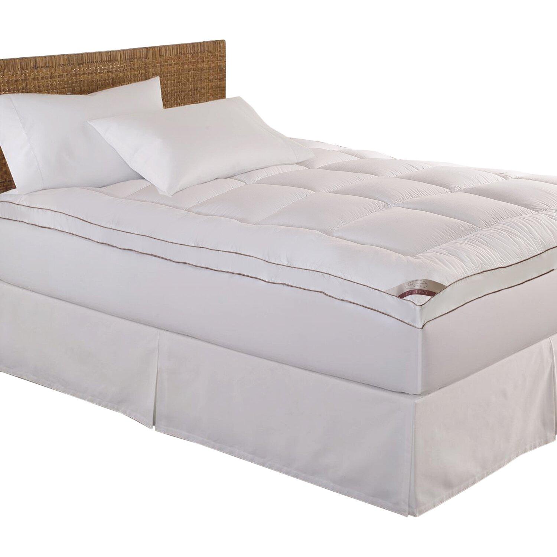 Blue ridge home fashion 233 thread count top fiber mattress pad reviews wayfair supply - Home design mattress pads ...