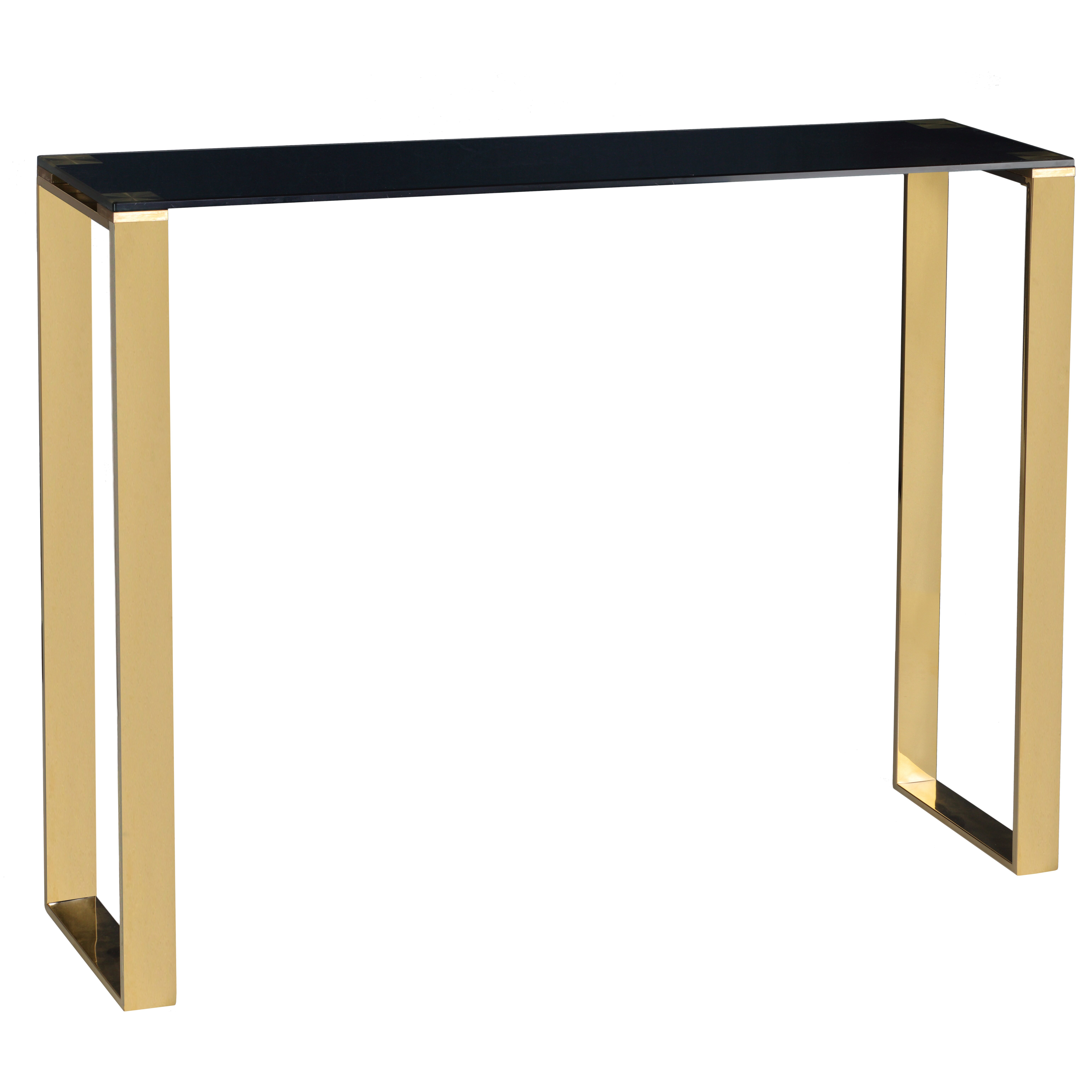 Cortesi home remini narrow console table reviews wayfair for Narrow console table modern
